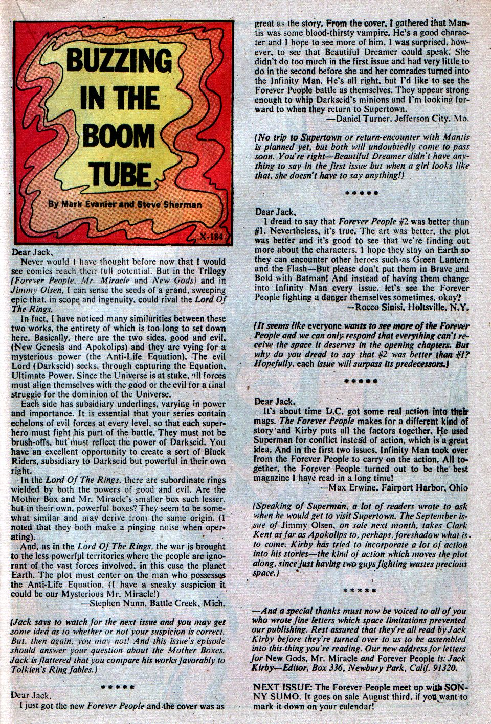 Forever People (1971) issue 4 - Page 30