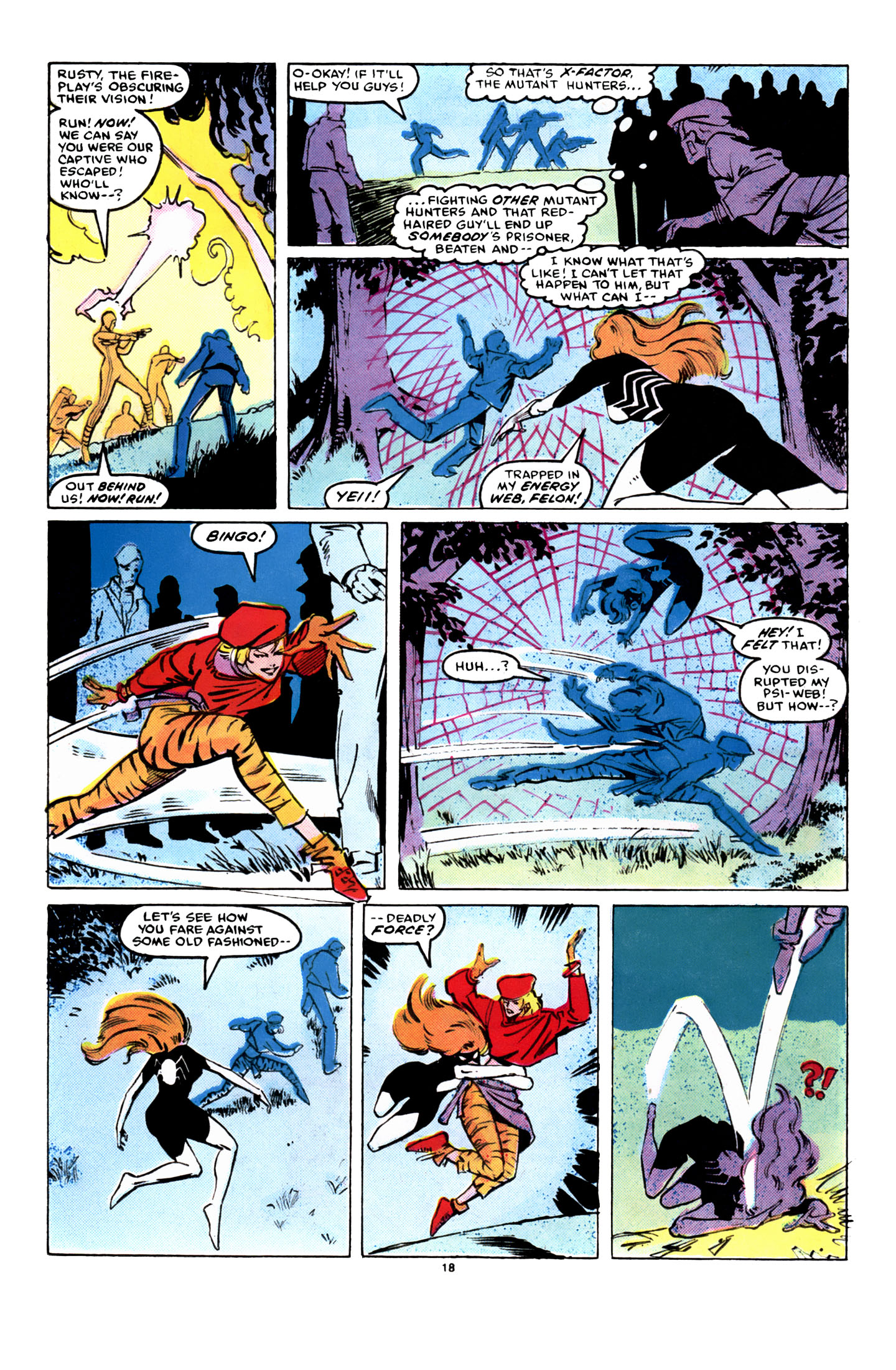 Read online X-Factor (1986) comic -  Issue #8 - 19