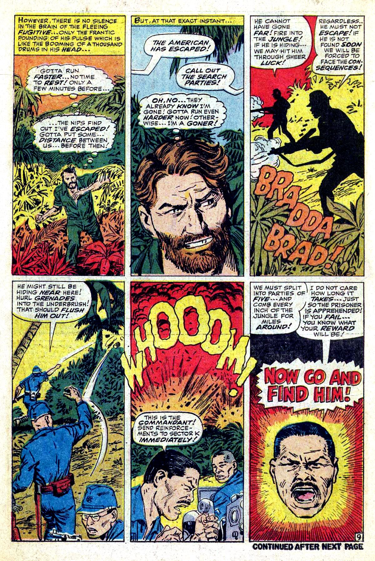 Read online Sgt. Fury comic -  Issue #54 - 14