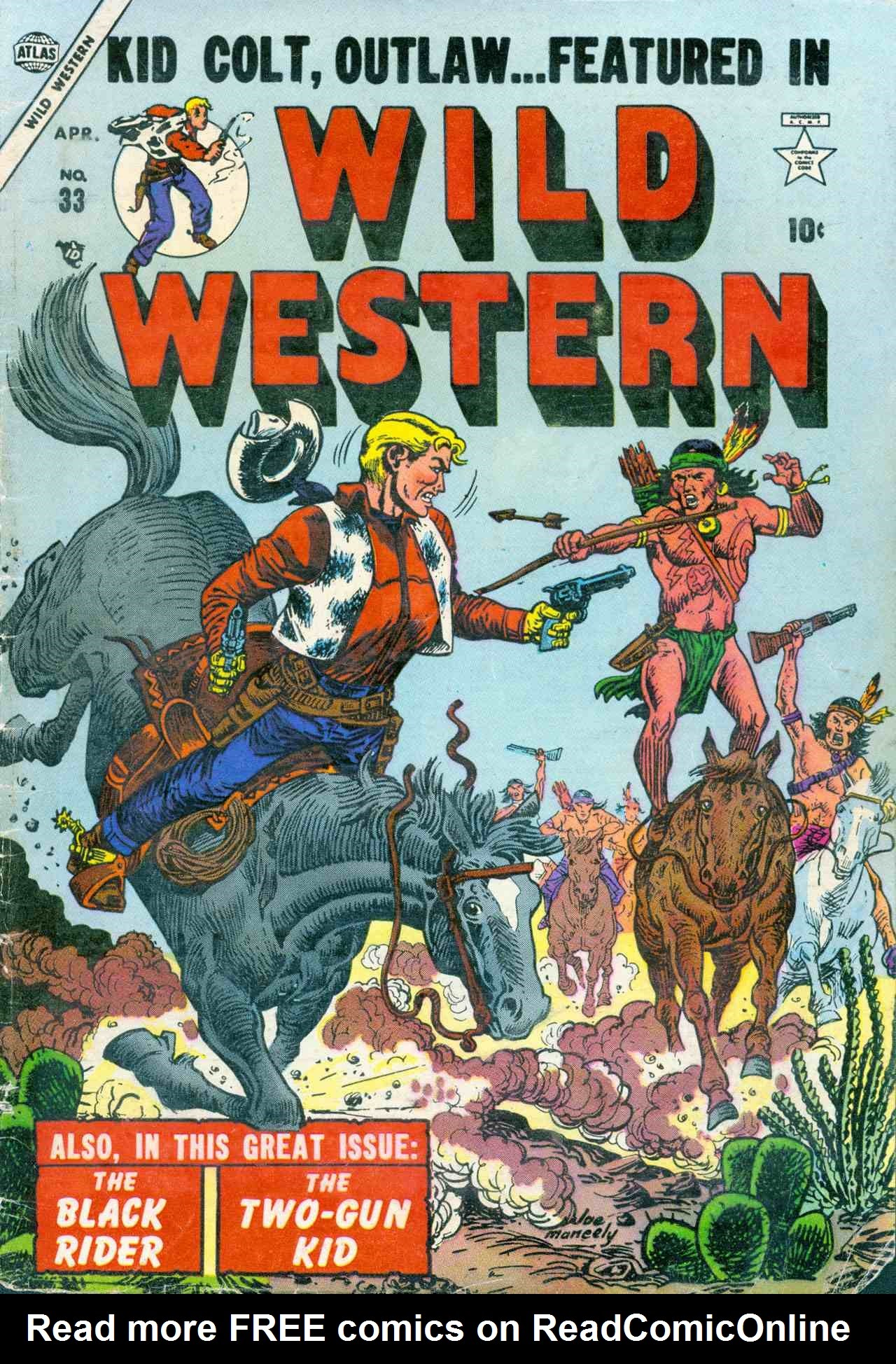 Wild Western 33 Page 1