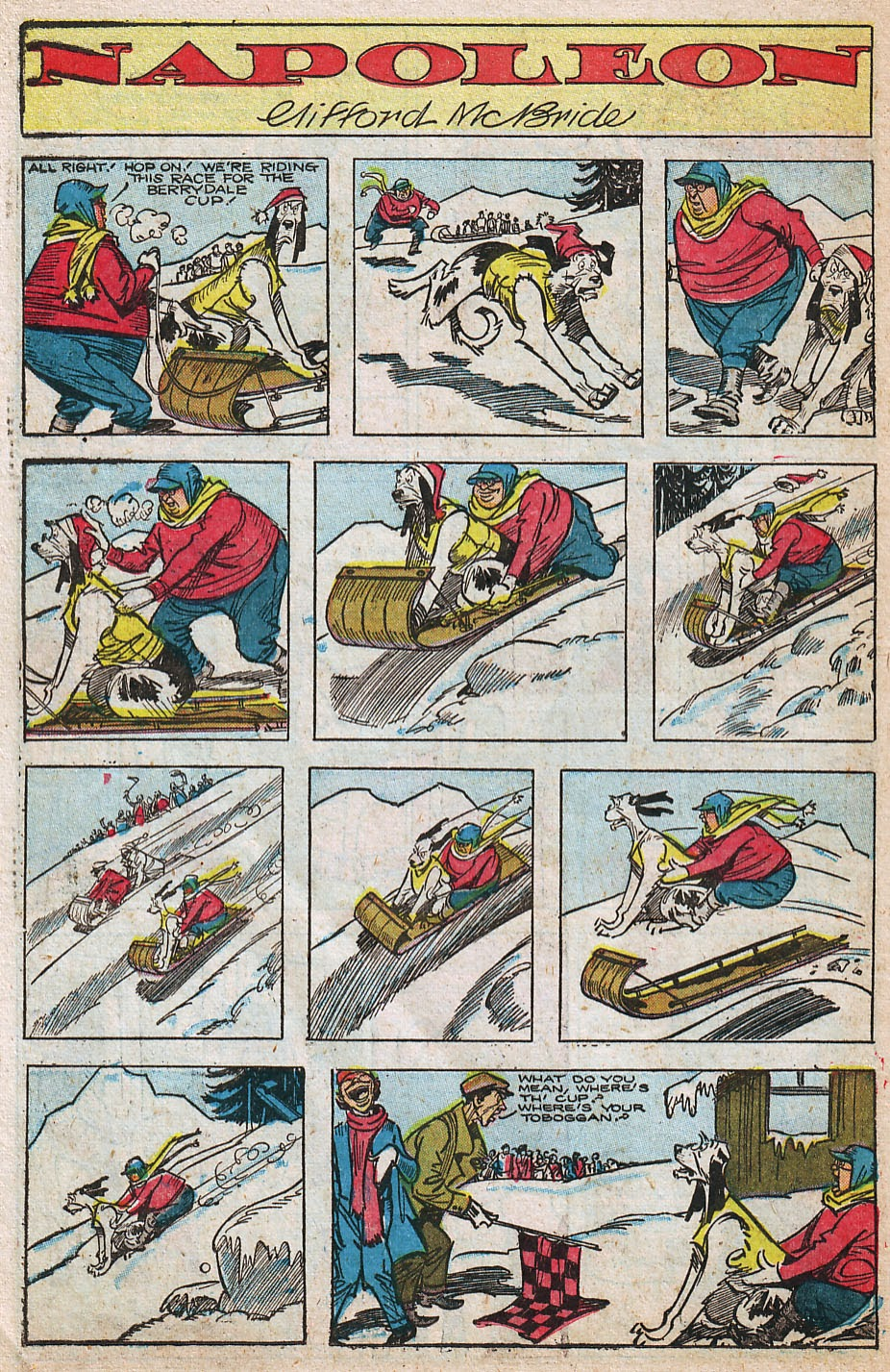 Read online Famous Funnies comic -  Issue #192 - 34