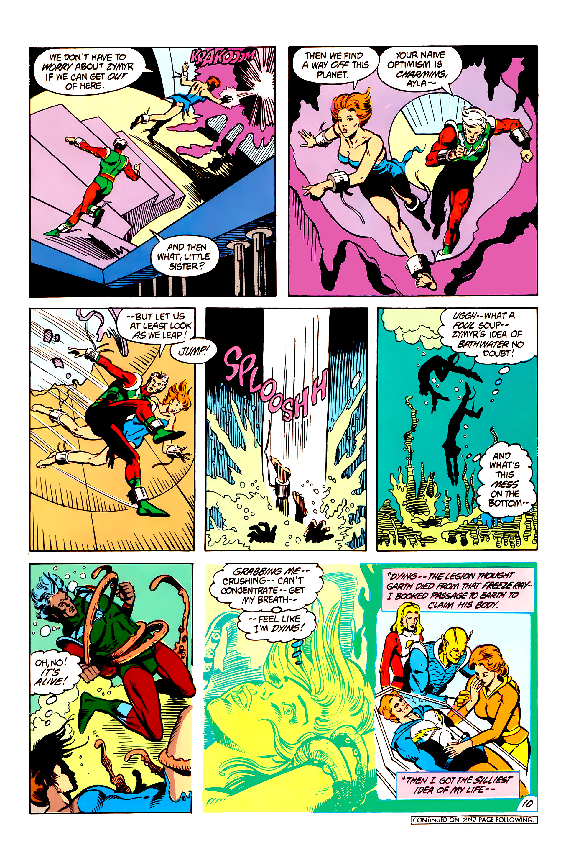 Legion of Super-Heroes (1984) 6 Page 10