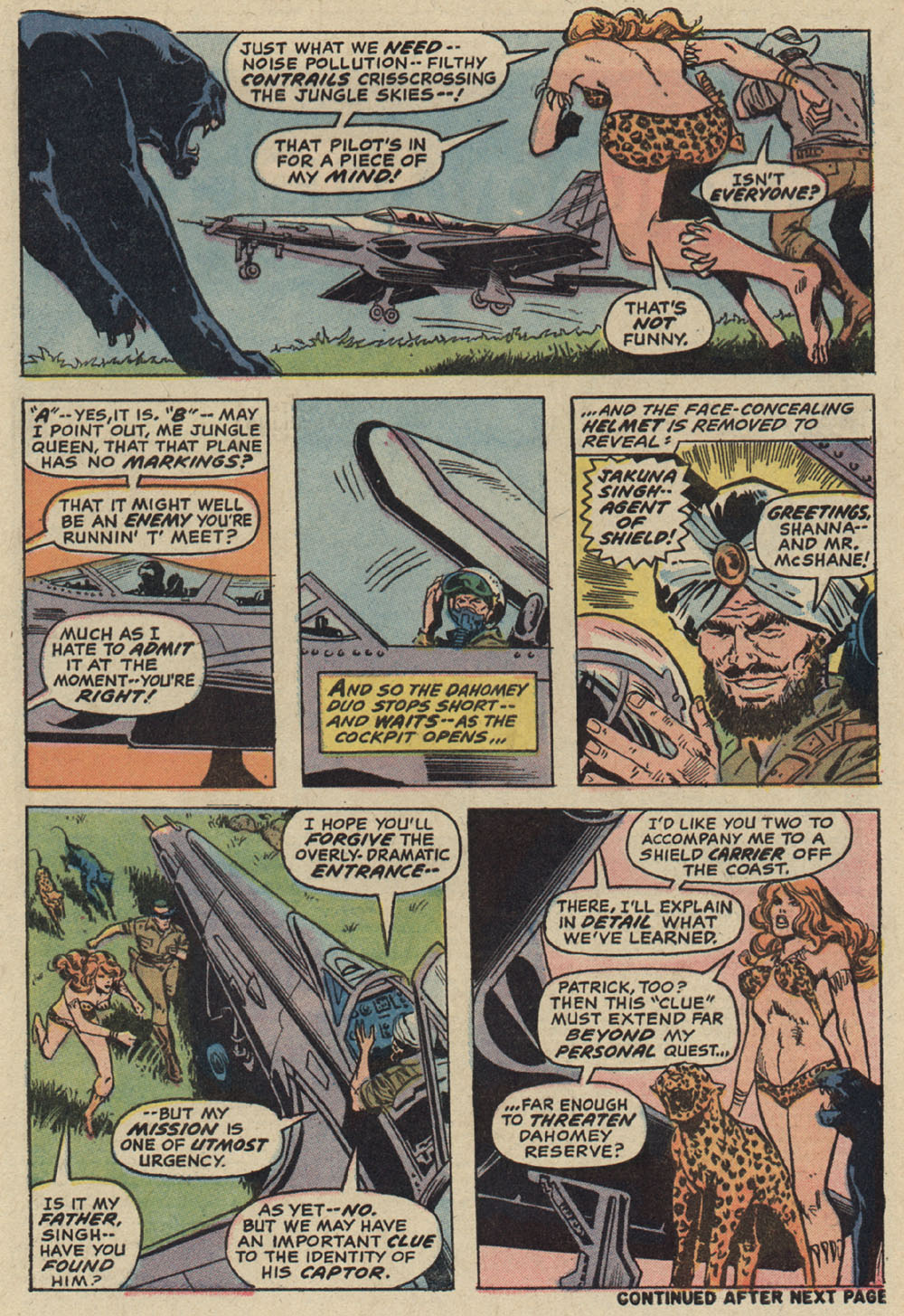 Read online Shanna, the She-Devil (1972) comic -  Issue #5 - 4