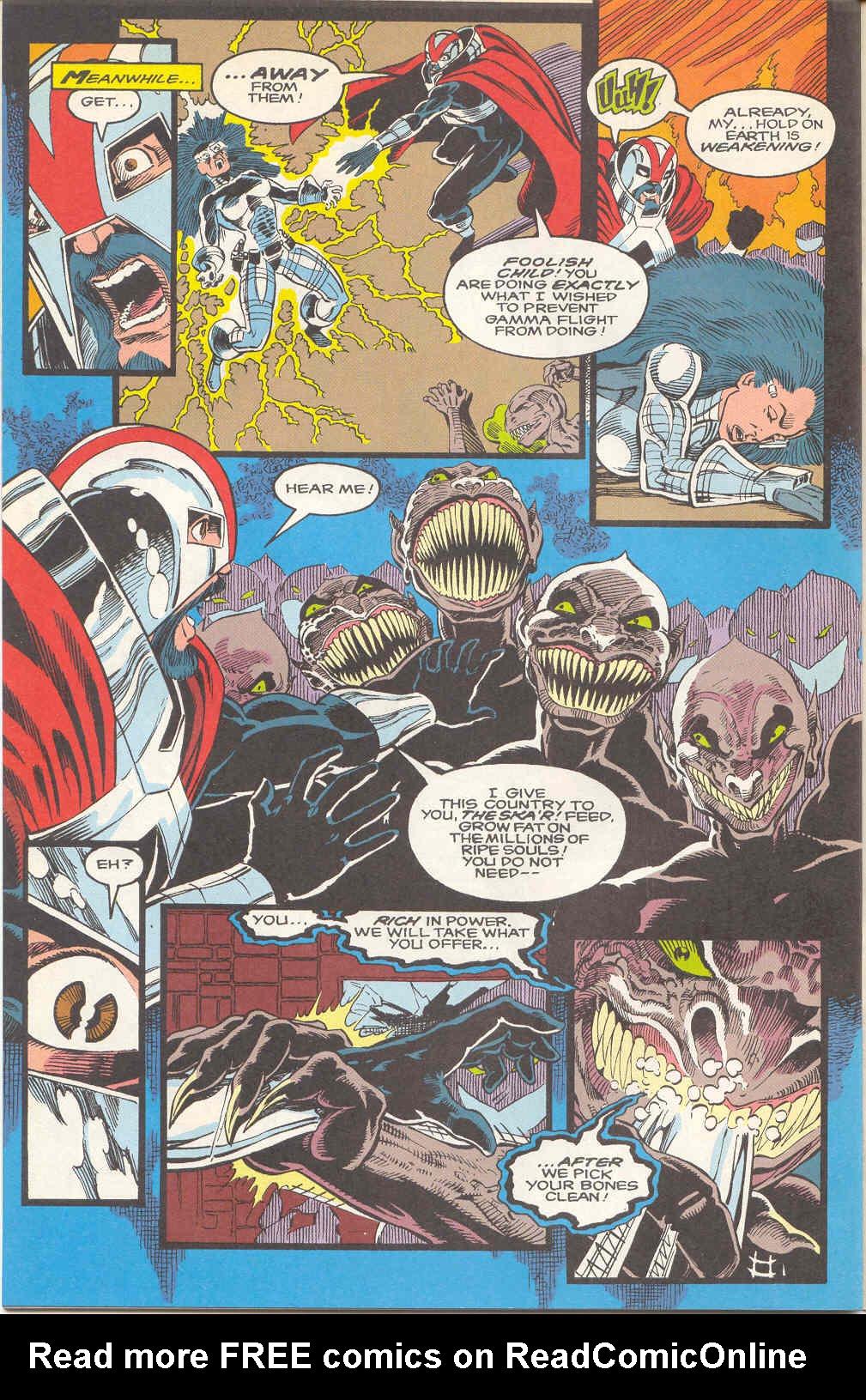 Read online Alpha Flight (1983) comic -  Issue #112 - 20