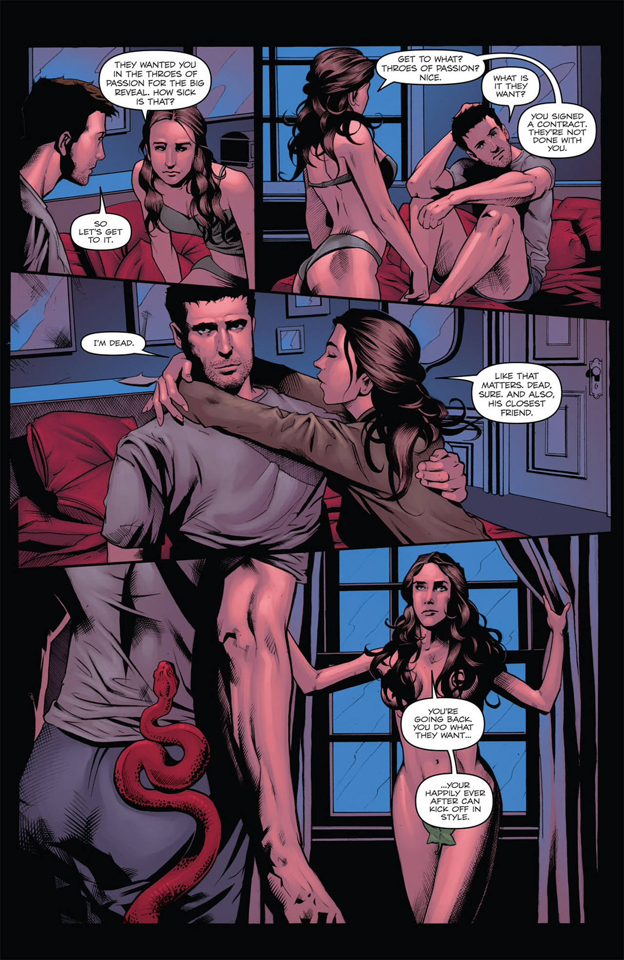 Read online Angel: After The Fall comic -  Issue #7 - 11