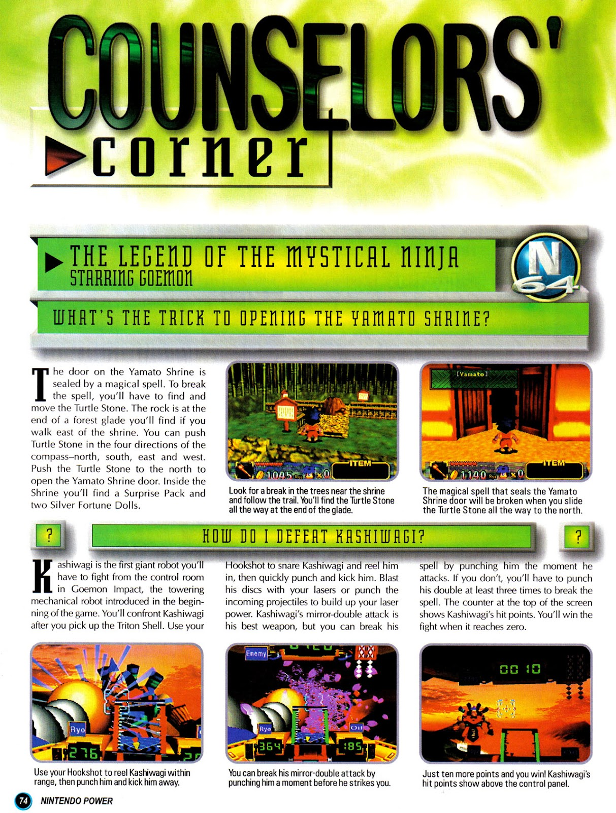 Comic Nintendo Power issue 110