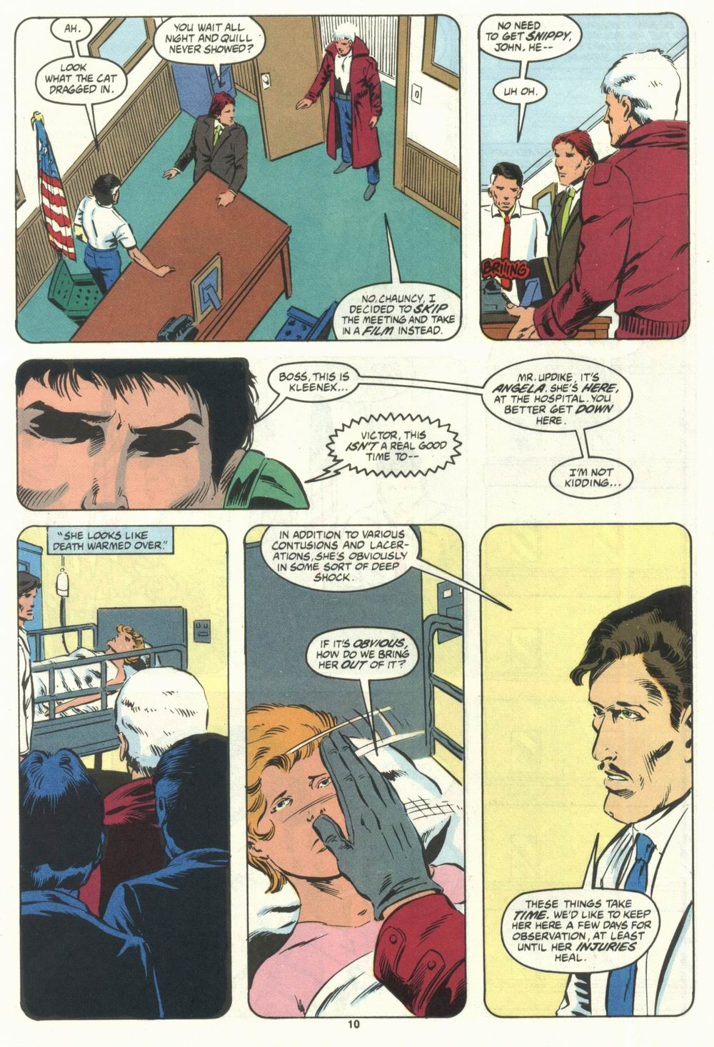 Read online Justice (1986) comic -  Issue #28 - 12