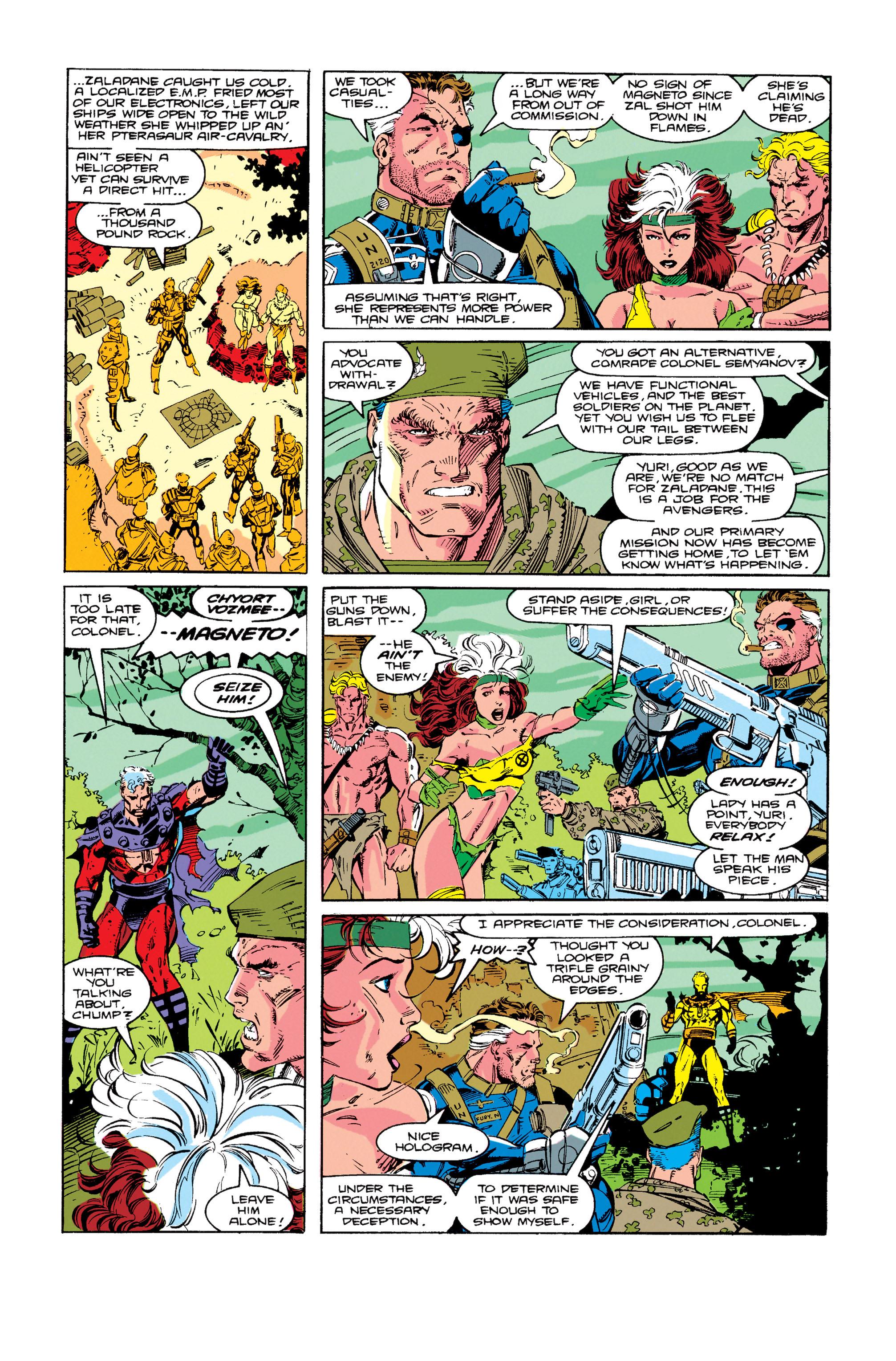 Read online Uncanny X-Men (1963) comic -  Issue #274 - 16