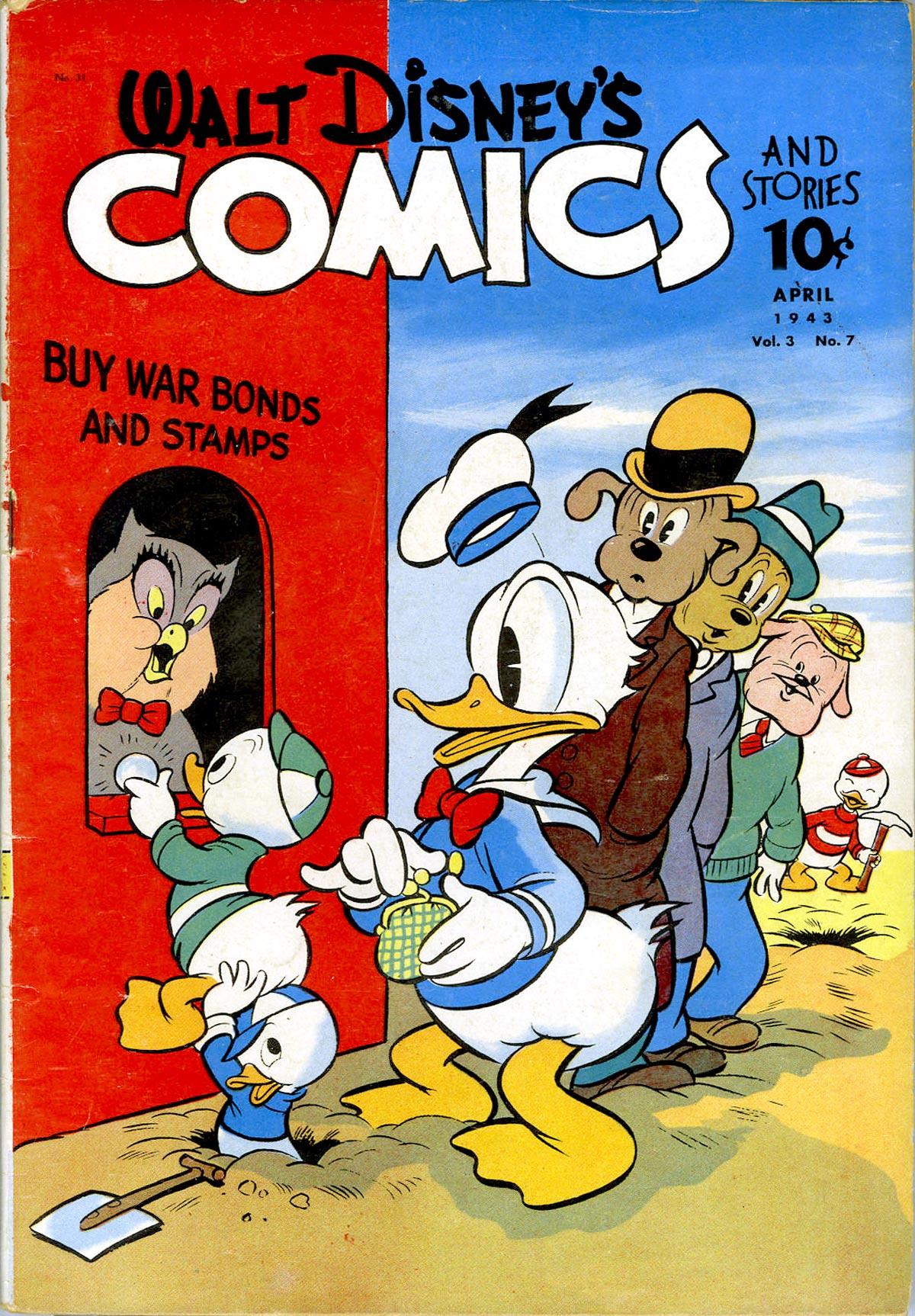 Walt Disneys Comics and Stories 31 Page 1