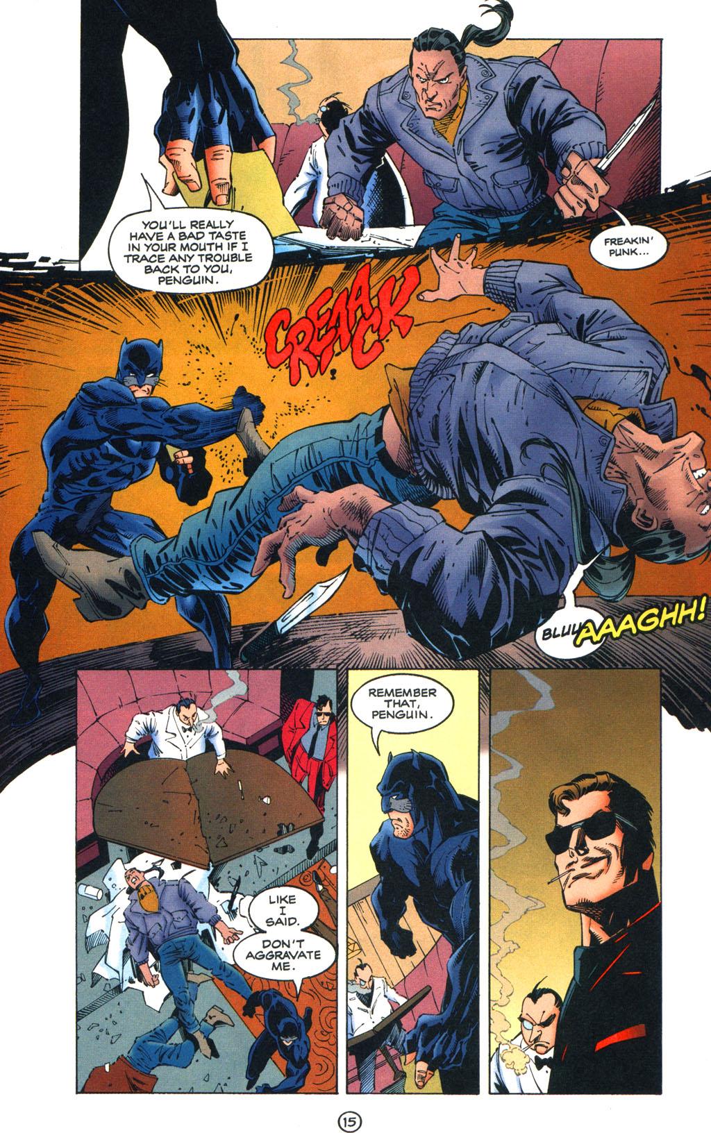Read online Batman/Wildcat comic -  Issue #1 - 15