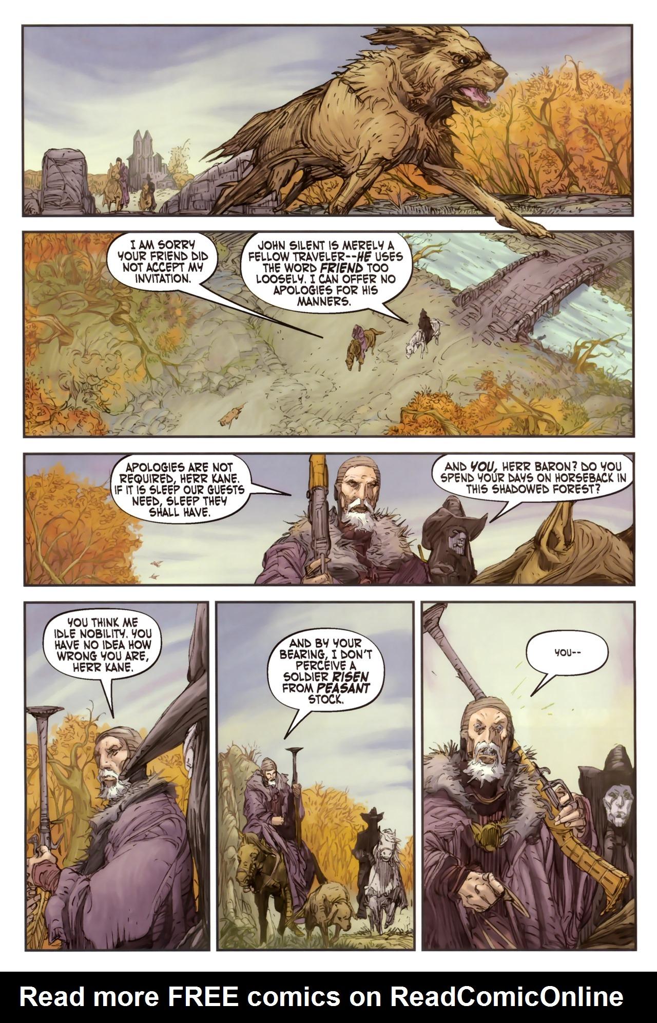 Read online Solomon Kane comic -  Issue #2 - 17