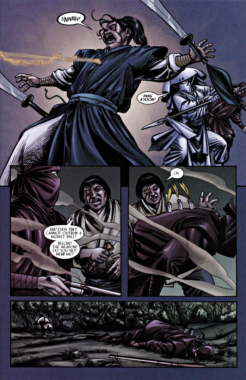 Read online Silken Ghost comic -  Issue #2 - 15