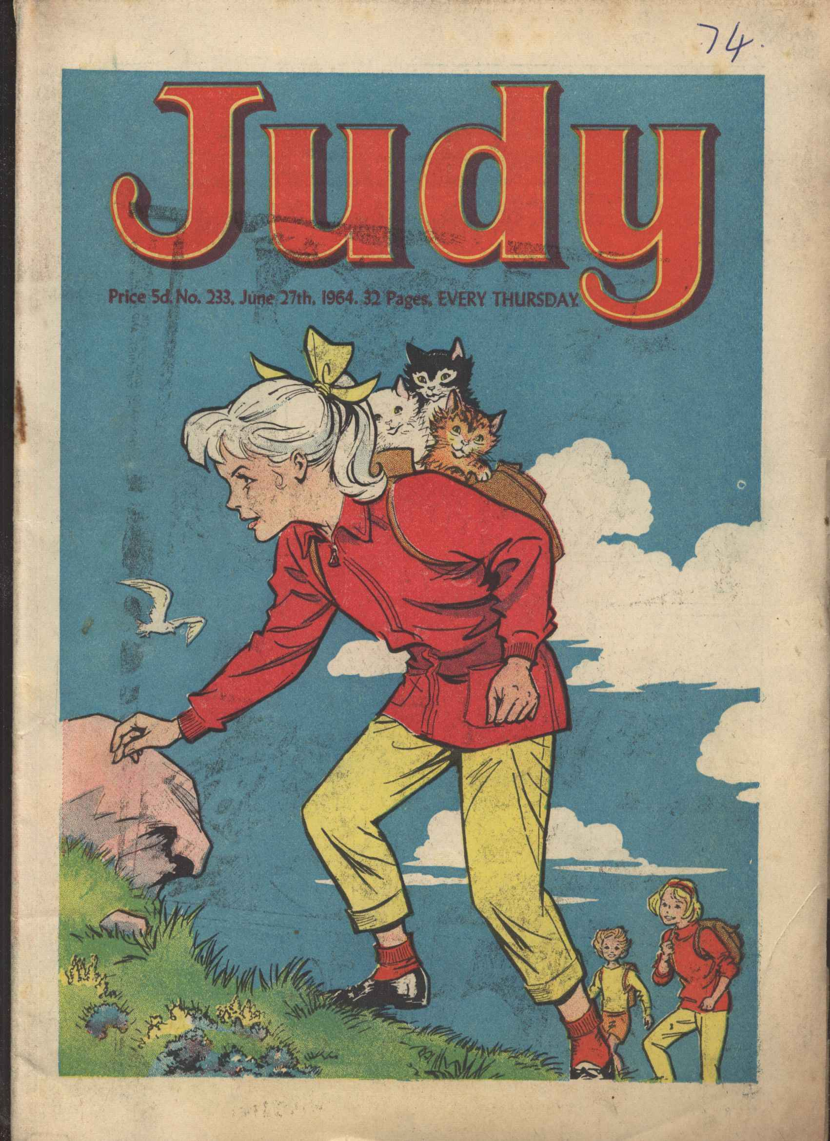 Read online Judy comic -  Issue #233 - 1
