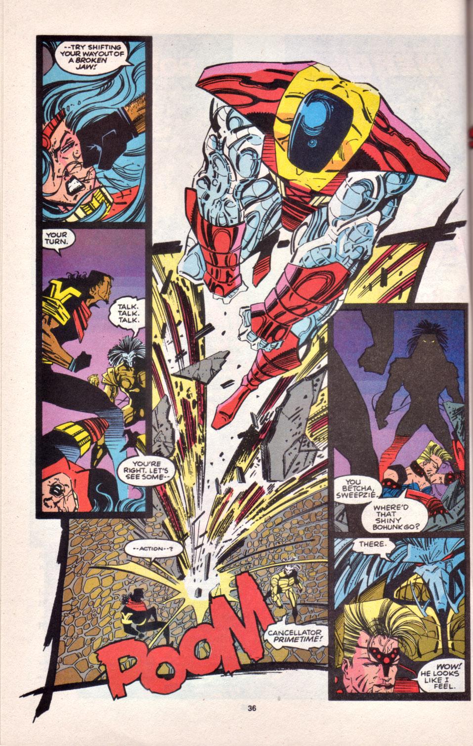 Read online Uncanny X-Men (1963) comic -  Issue # _Annual 16 - 29