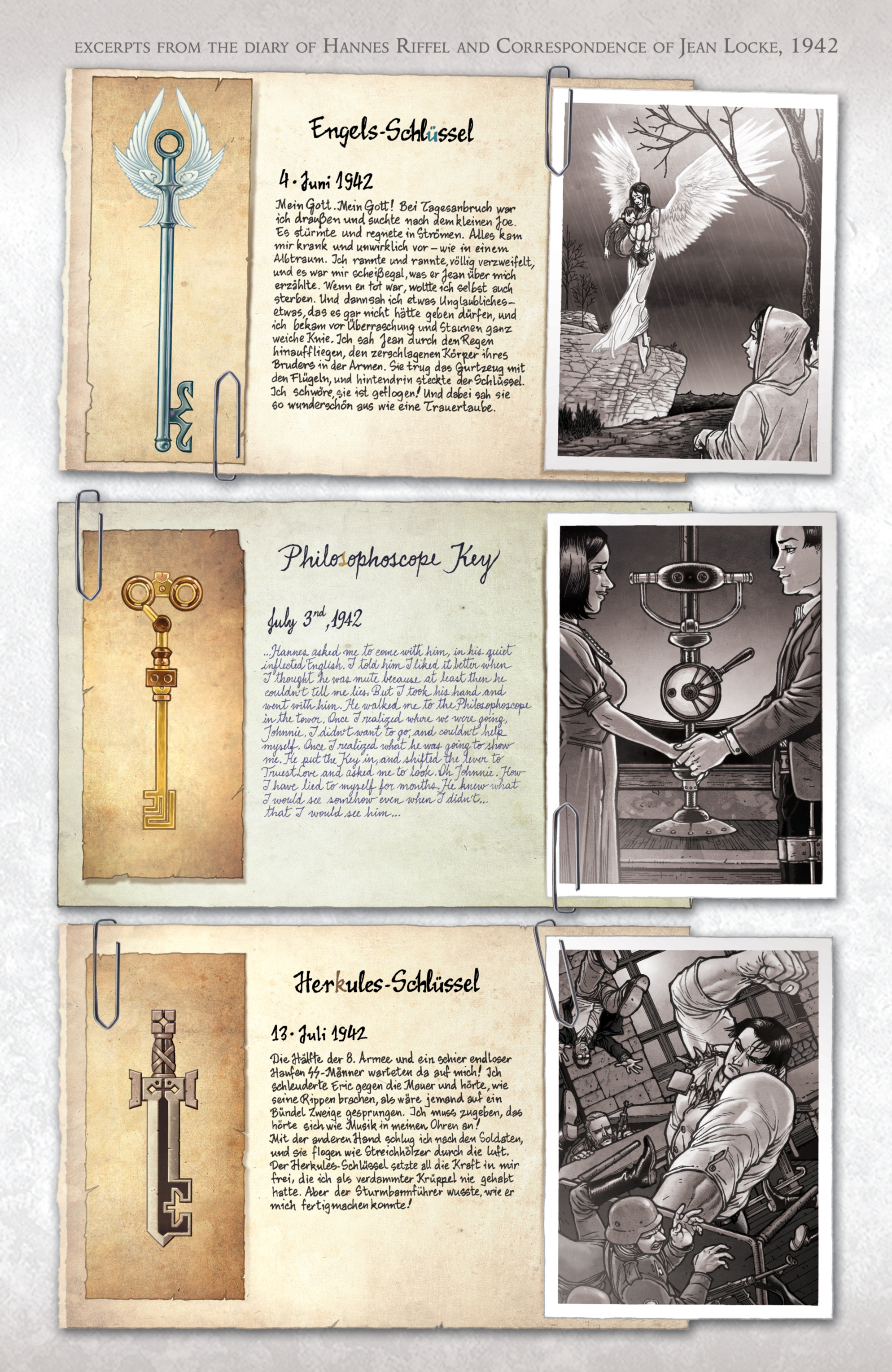 Read online Locke & Key: Guide to the Known Keys comic -  Issue # Full - 24