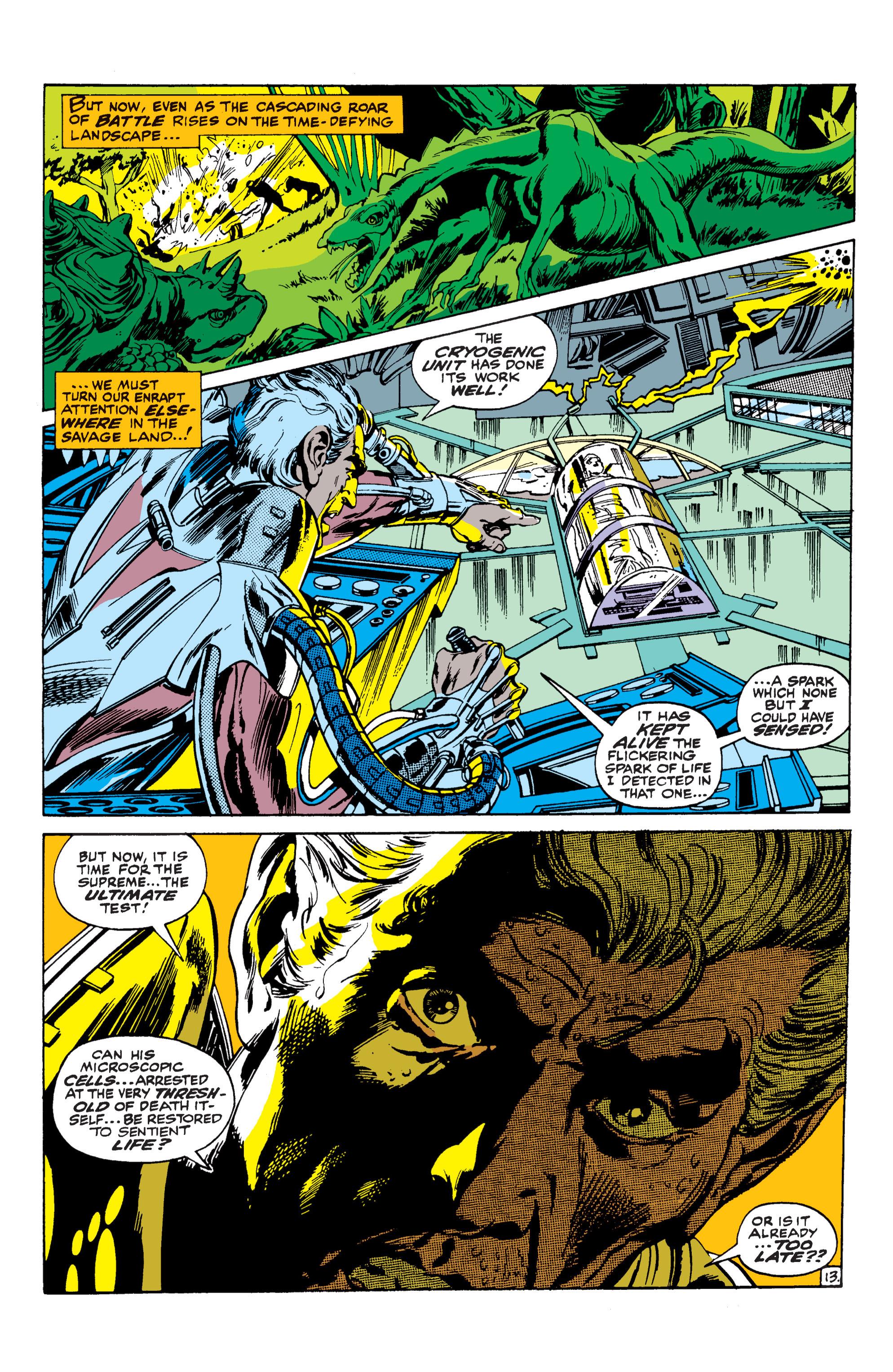 Uncanny X-Men (1963) 62 Page 13