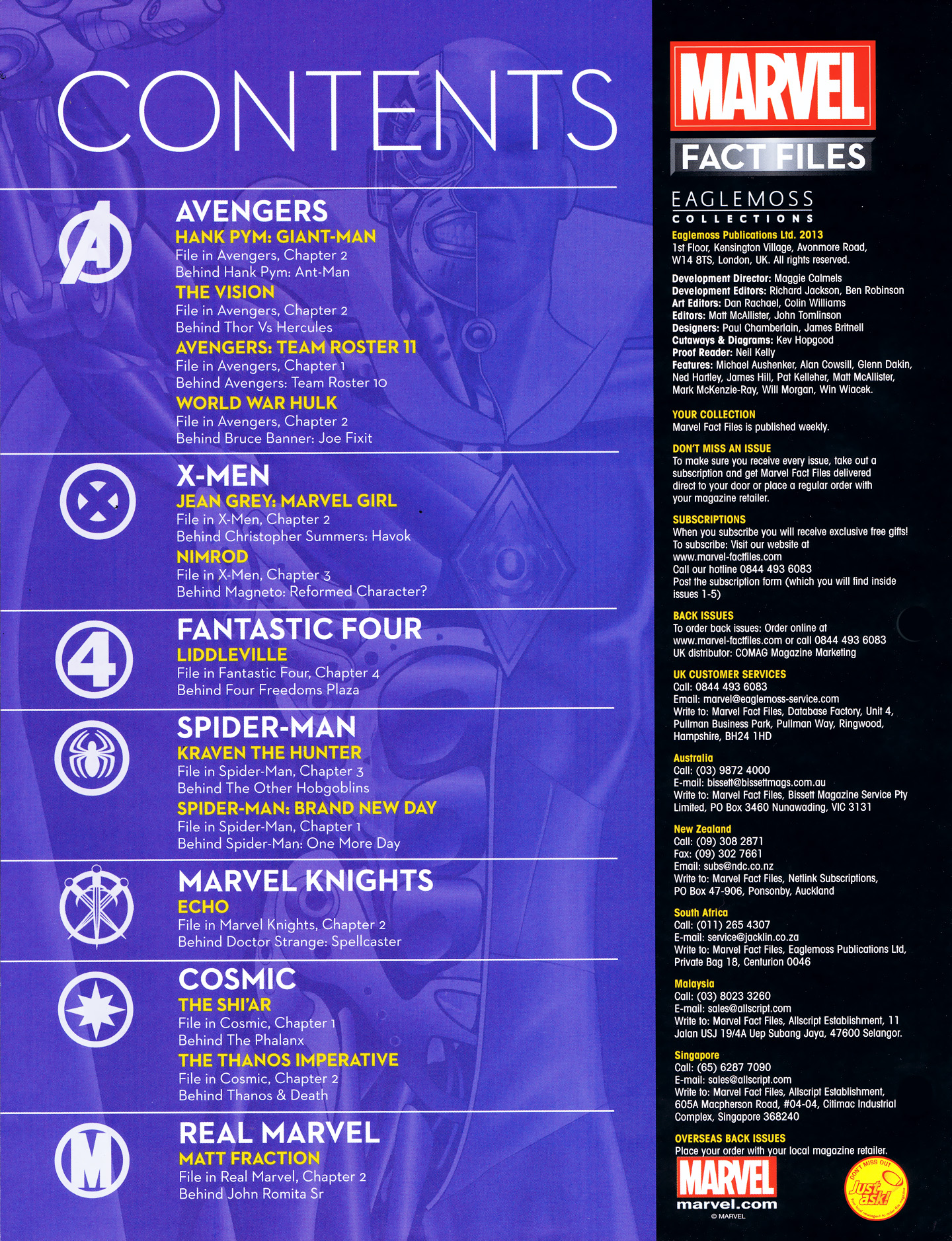 Marvel Fact Files 38 Page 3