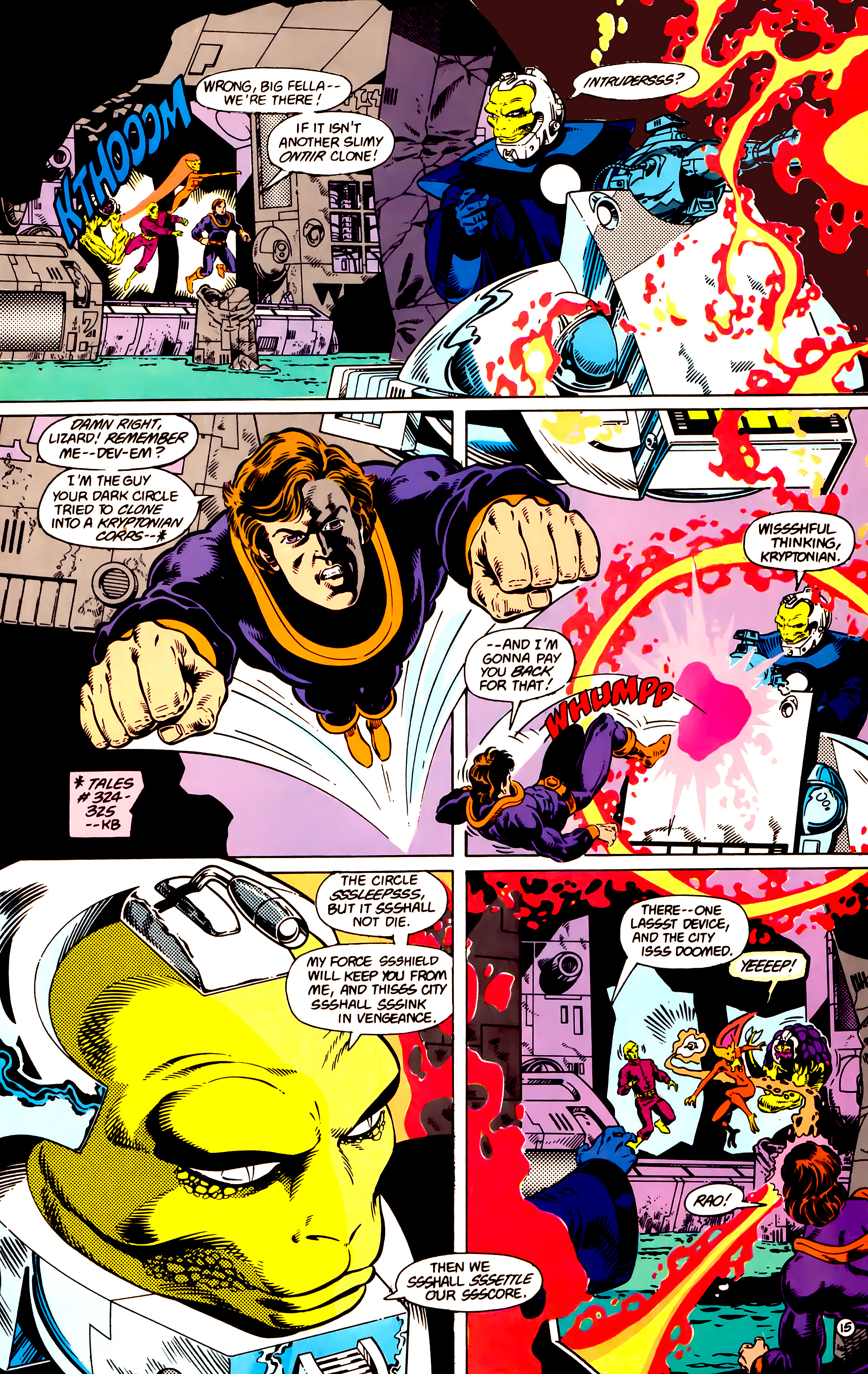 Legion of Super-Heroes (1984) 14 Page 16