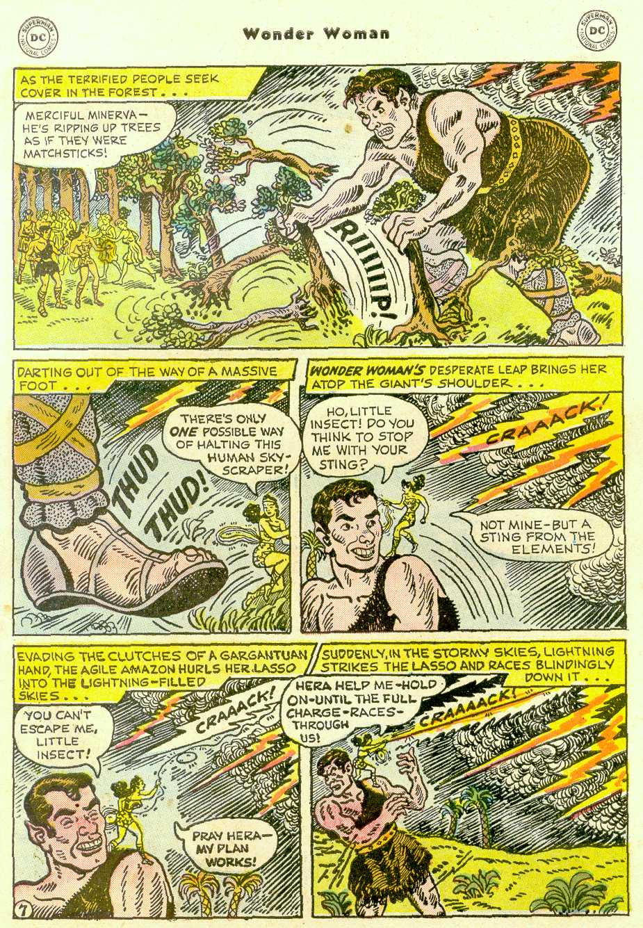 Read online Wonder Woman (1942) comic -  Issue #96 - 32