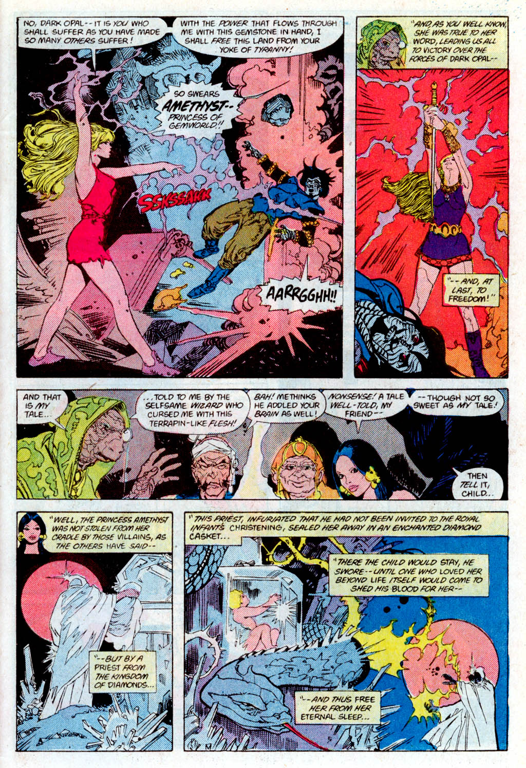 Read online Amethyst (1985) comic -  Issue # _Special 1 - 38