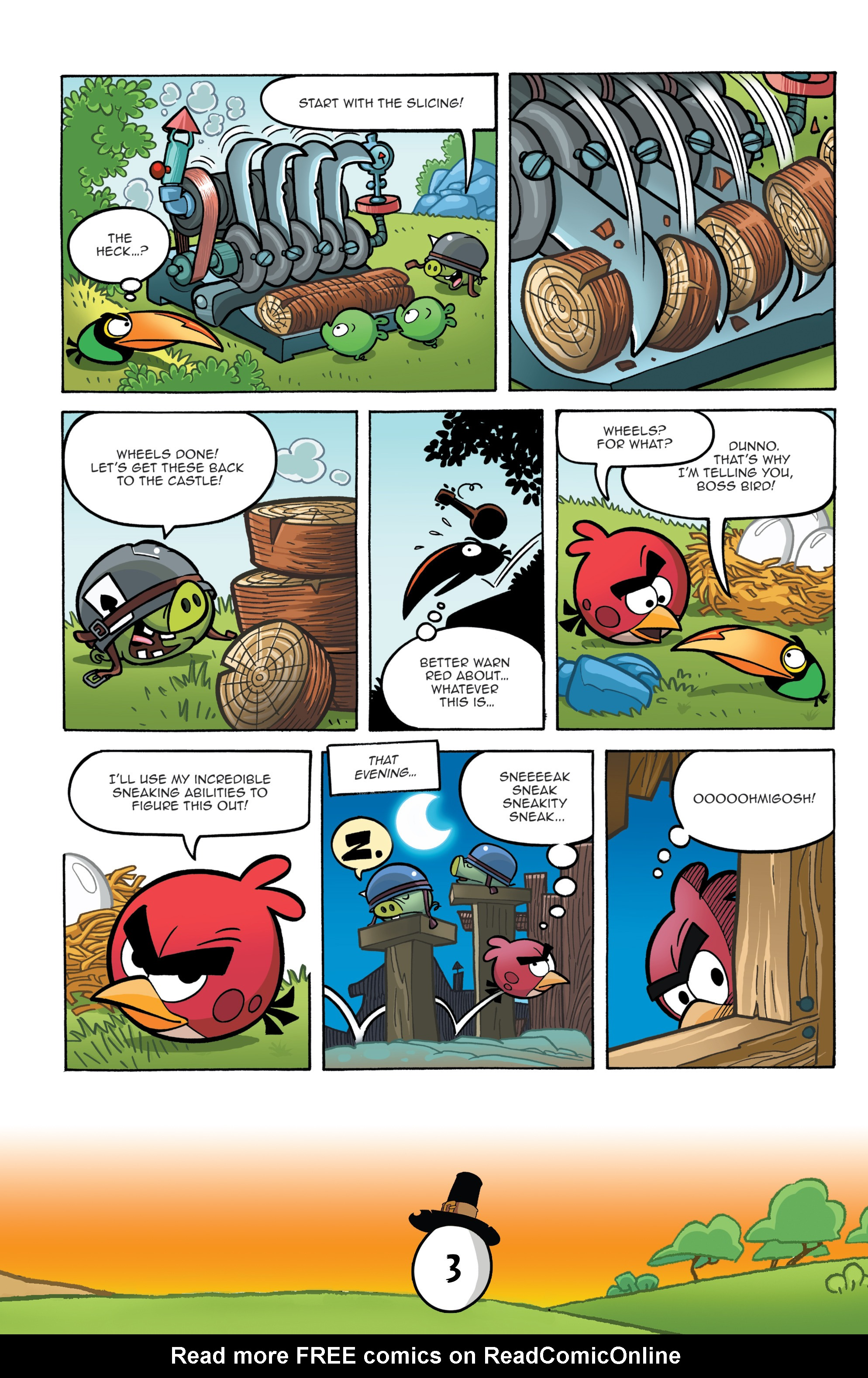 Read online Angry Birds Comics (2016) comic -  Issue #11 - 5