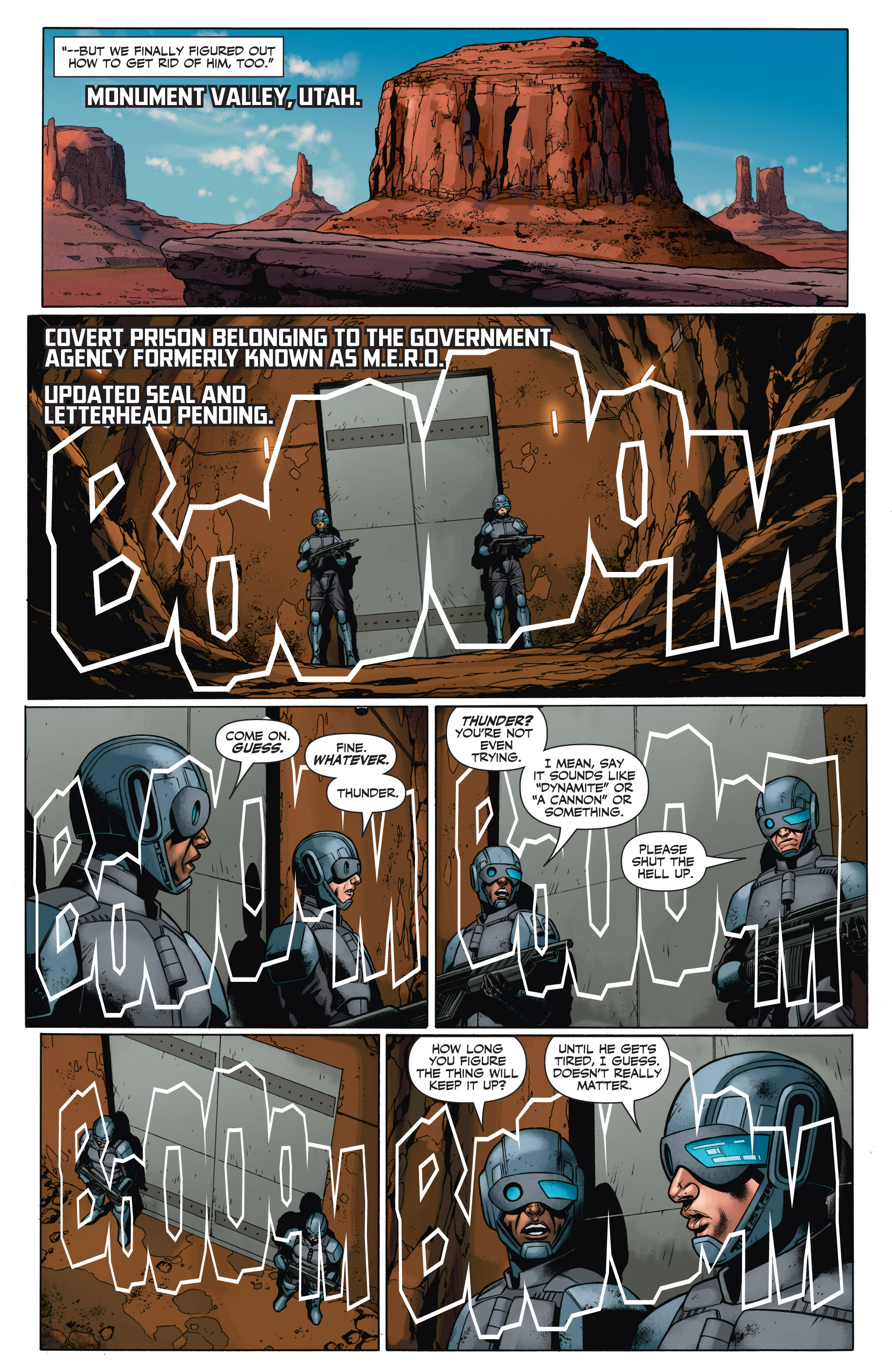Read online Armor Hunters: Aftermath comic -  Issue # Full - 13