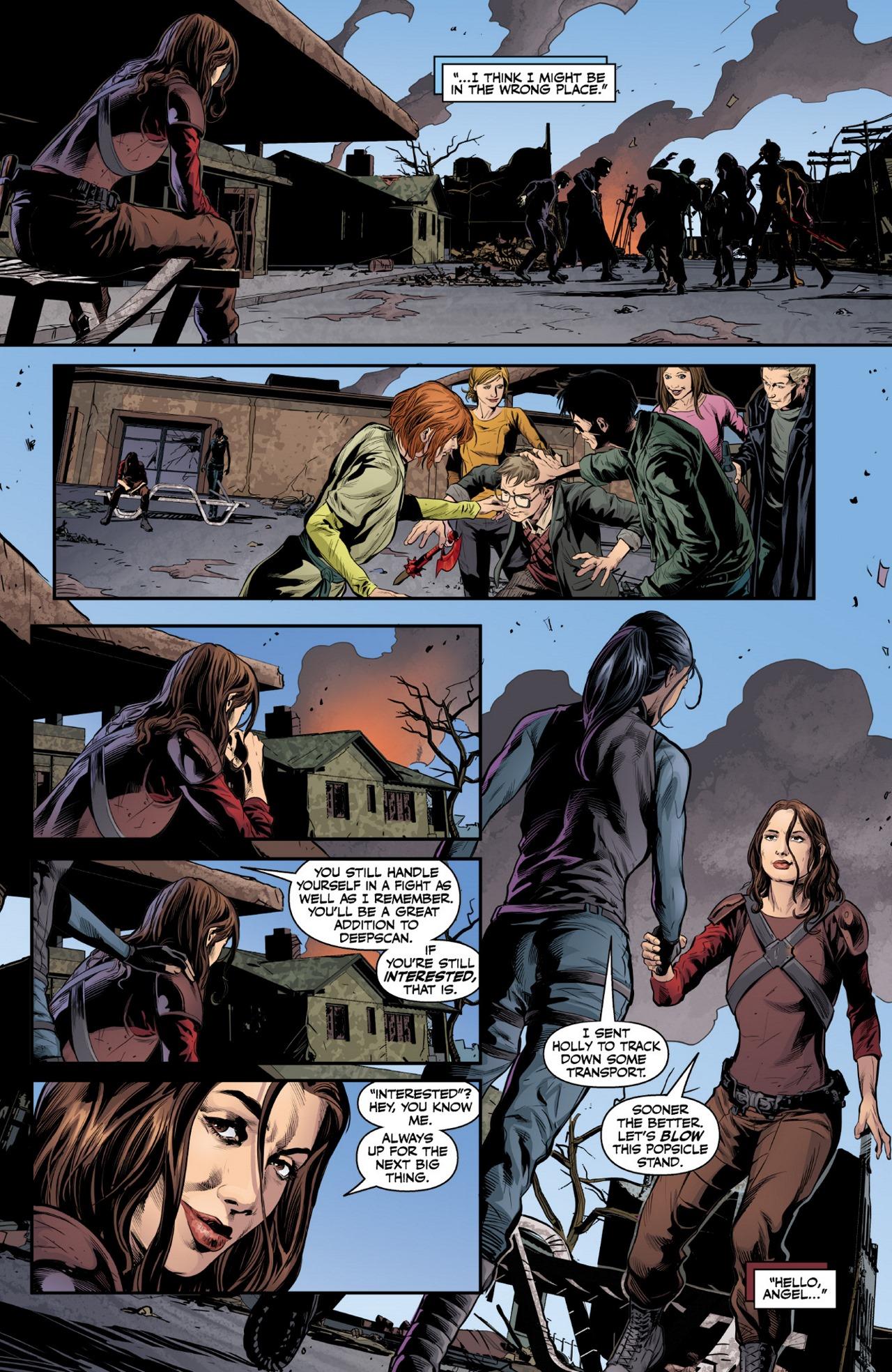 Read online Angel & Faith Season 10 comic -  Issue #1 - 22