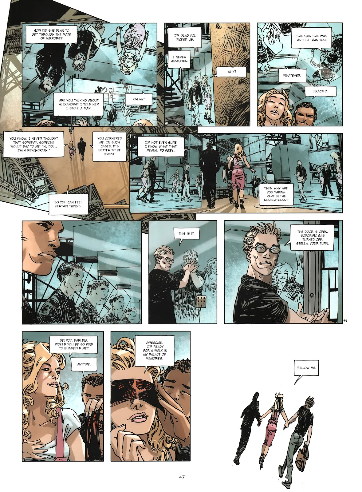 Read online Cutting Edge (2013) comic -  Issue #3 - 44