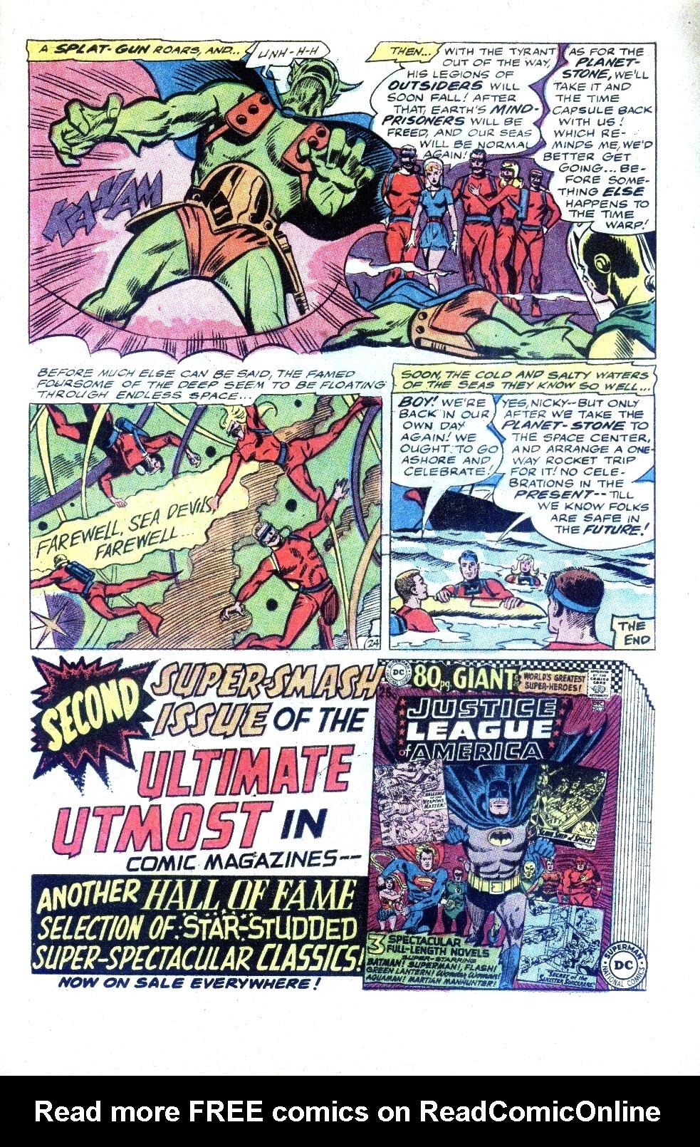 Read online Sea Devils comic -  Issue #32 - 34