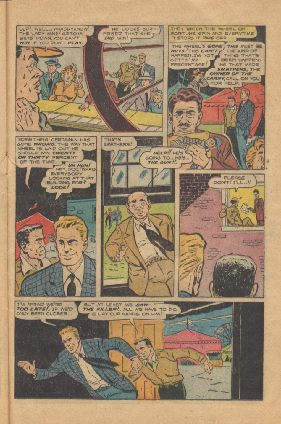 Read online Shadow Comics comic -  Issue #95 - 31