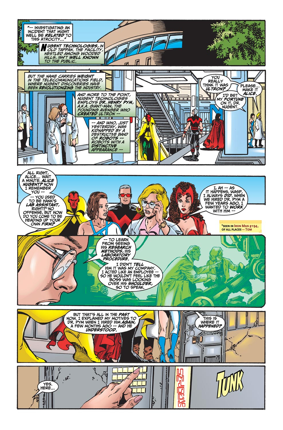 Read online Avengers (1998) comic -  Issue #20 - 9