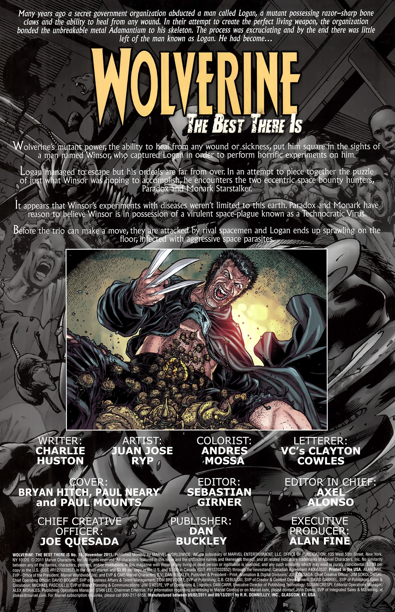 Read online Wolverine: The Best There Is comic -  Issue #10 - 2