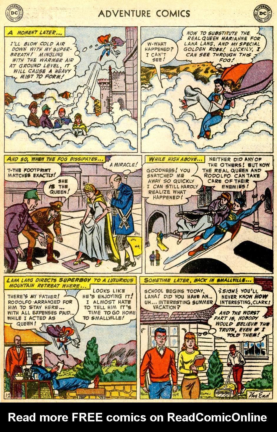 Read online Adventure Comics (1938) comic -  Issue #192 - 14