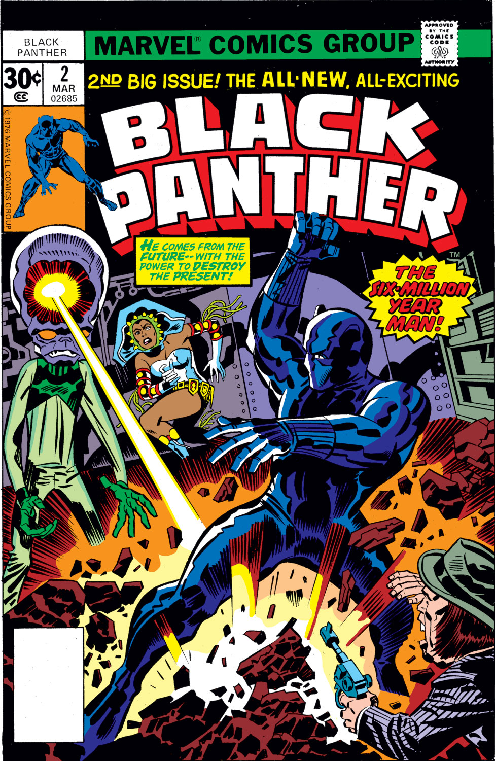 Black Panther (1977) issue 2 - Page 1