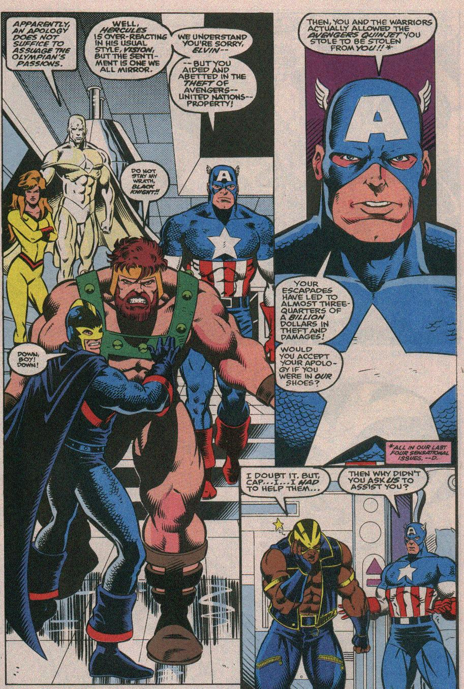 The New Warriors Issue #26 #30 - English 8
