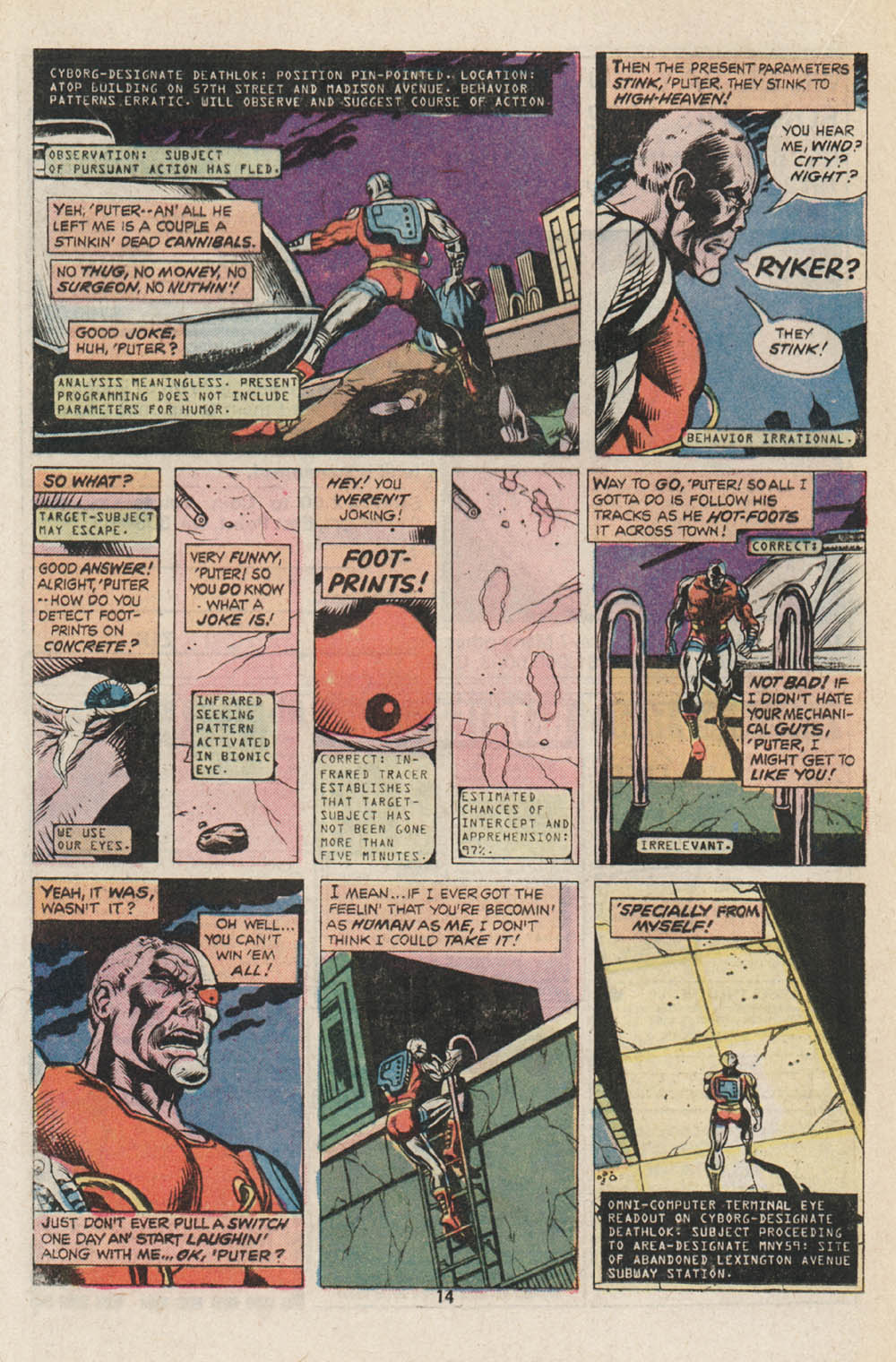 Read online Astonishing Tales (1970) comic -  Issue #32 - 9