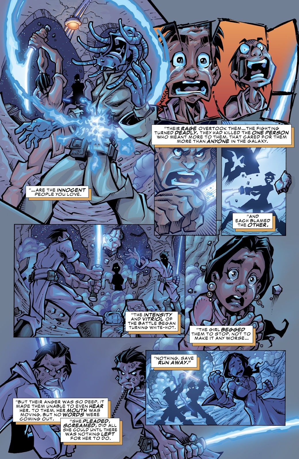 Read online Star Wars Legends: Rise of the Sith - Epic Collection comic -  Issue # TPB 1 (Part 3) - 7