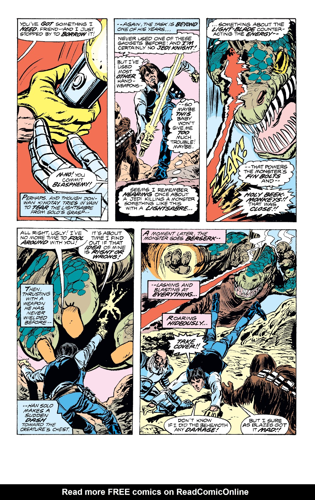 Read online Star Wars Legends: The Original Marvel Years - Epic Collection comic -  Issue # TPB 1 (Part 2) - 87