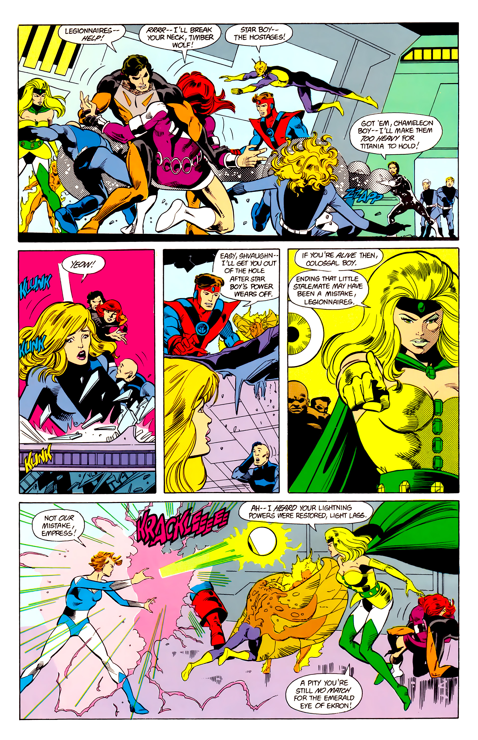 Legion of Super-Heroes (1984) 21 Page 13
