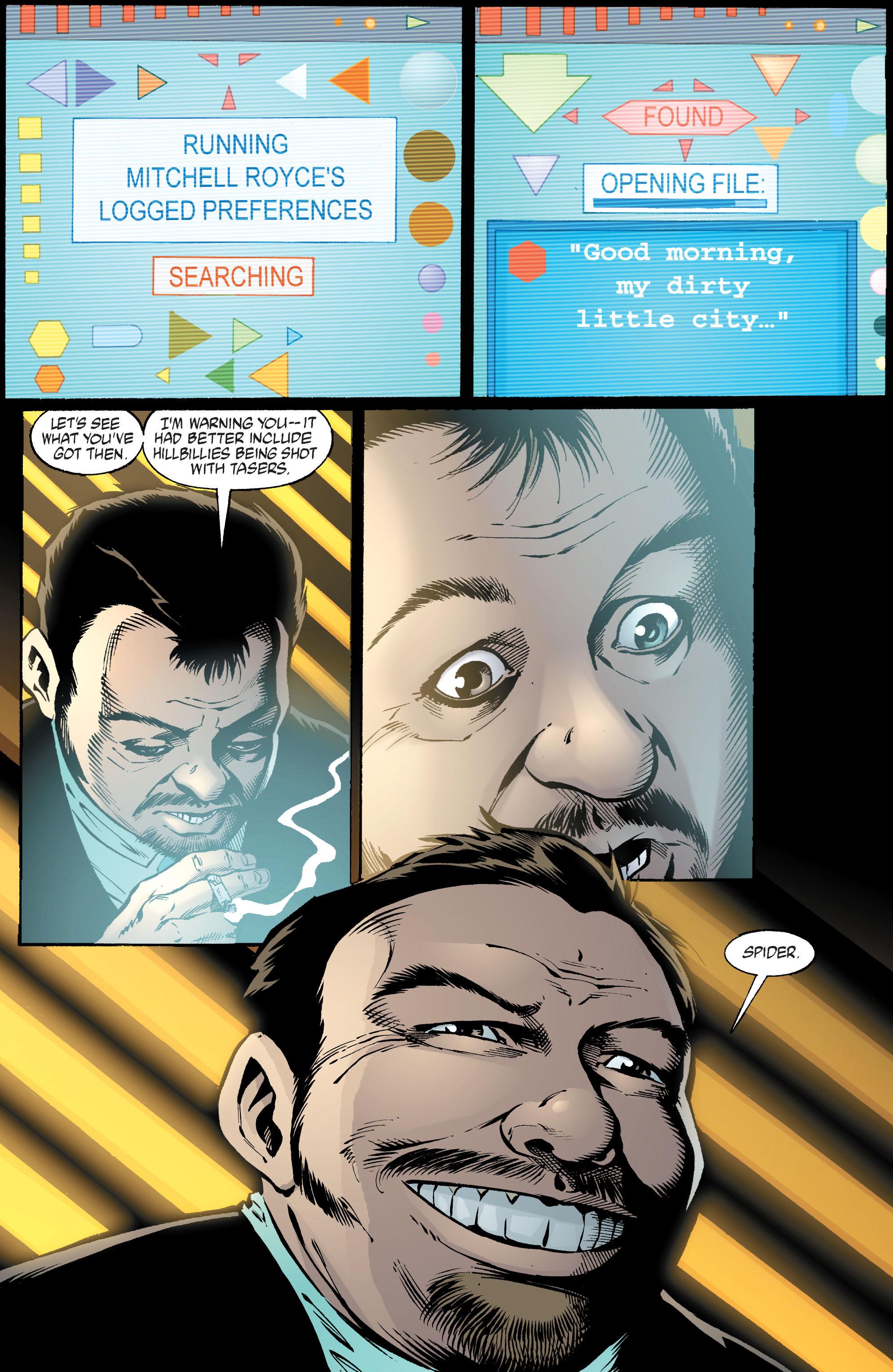 Read online Transmetropolitan comic -  Issue #39 - 9