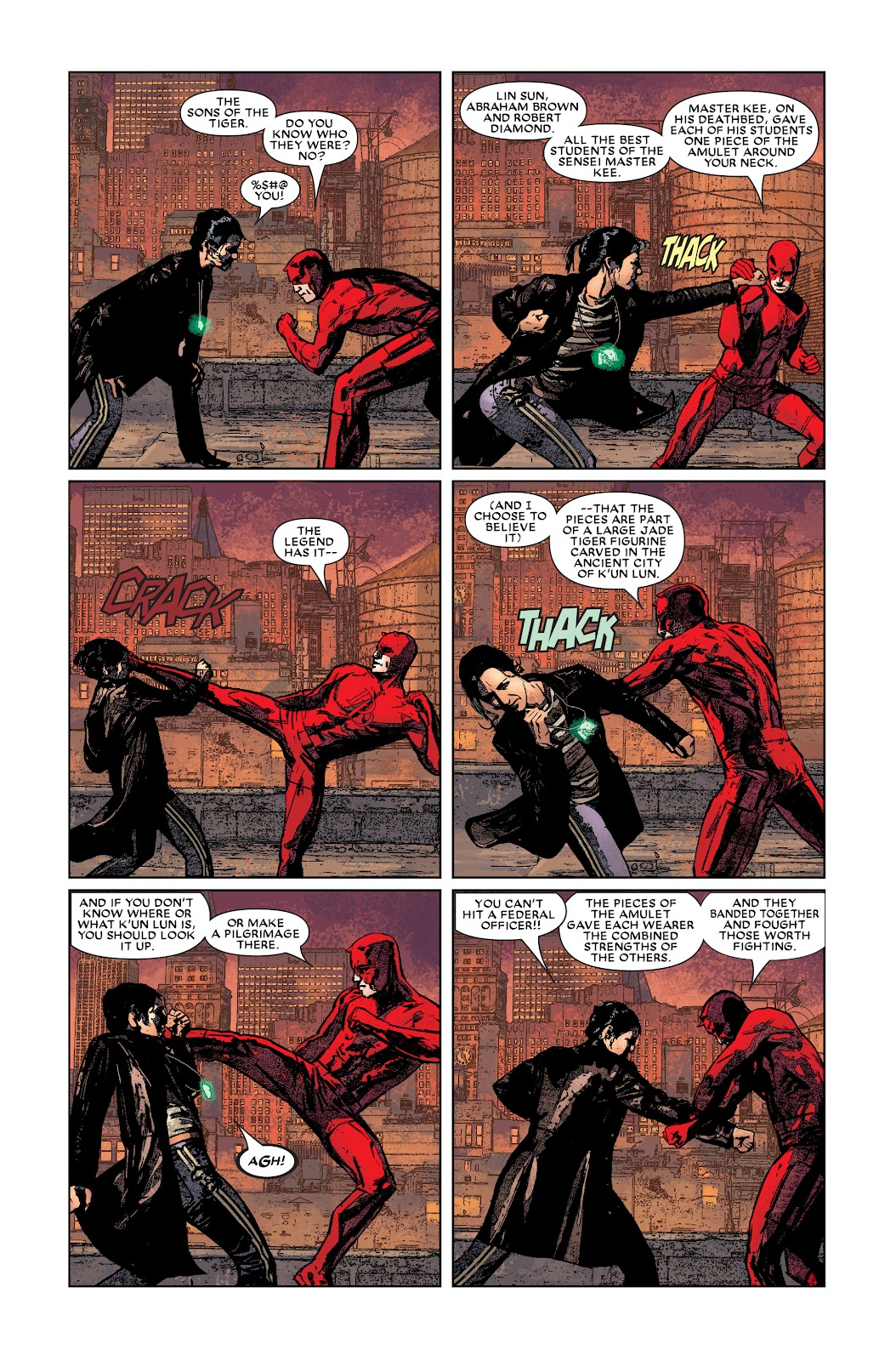 Read online Daredevil (1998) comic -  Issue # _Ultimate_Collection TPB 3 (Part 1) - 92