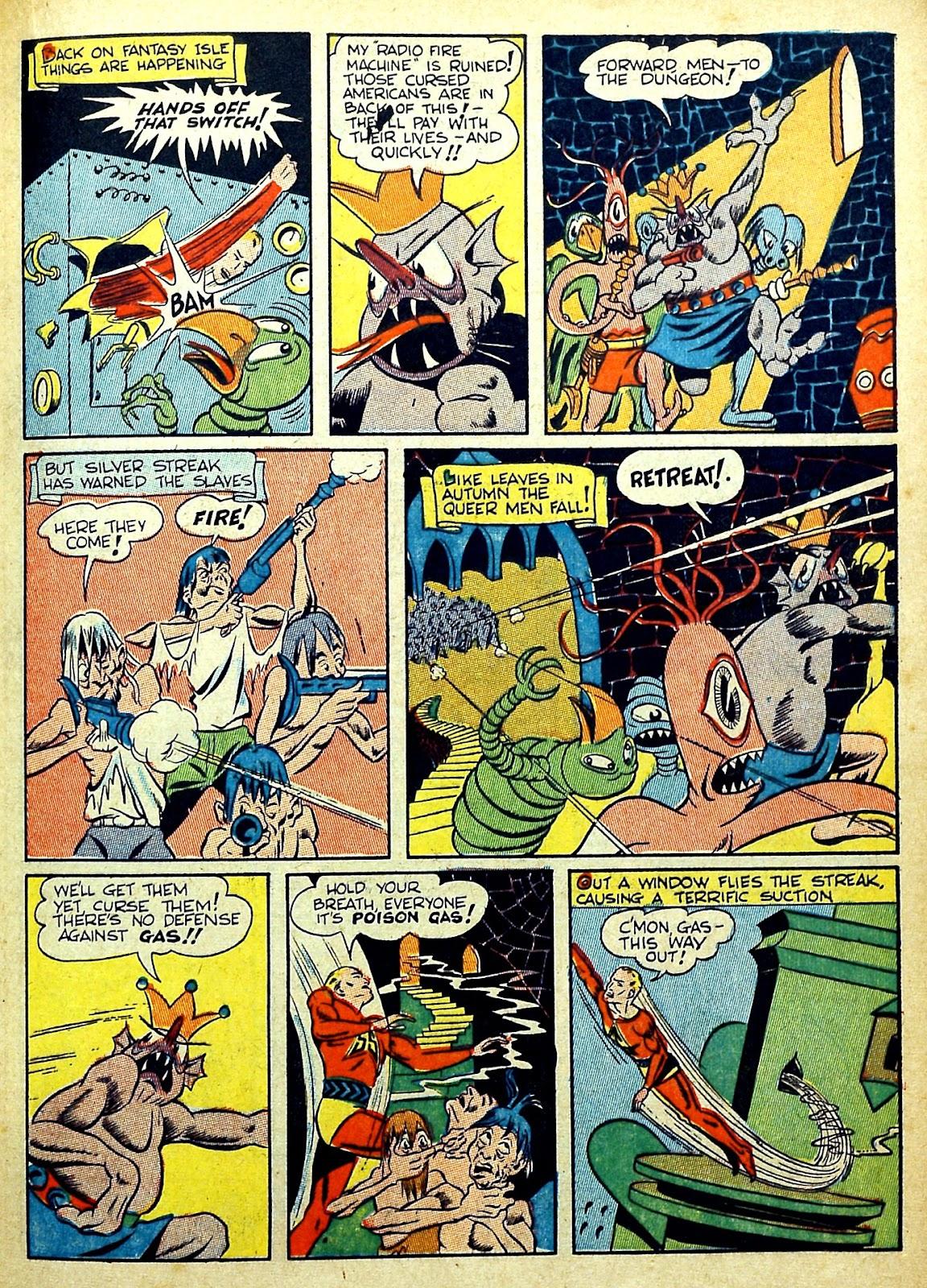 Read online Silver Streak Comics comic -  Issue #22 - 39