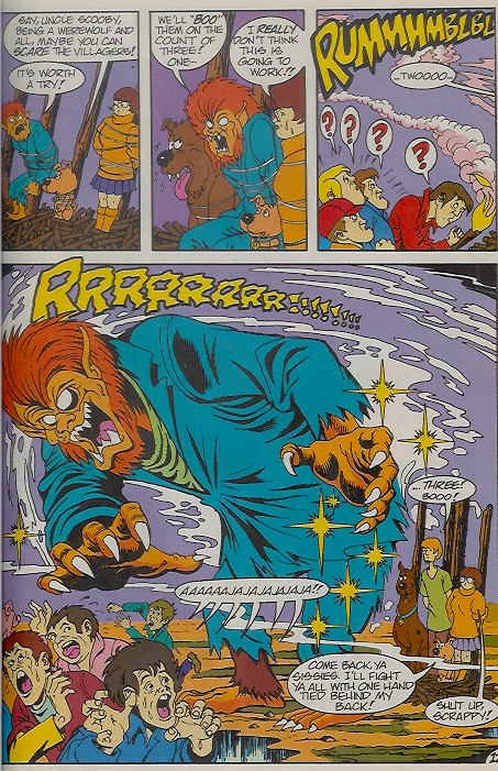 Read online Scooby-Doo (1995) comic -  Issue #9 - 17