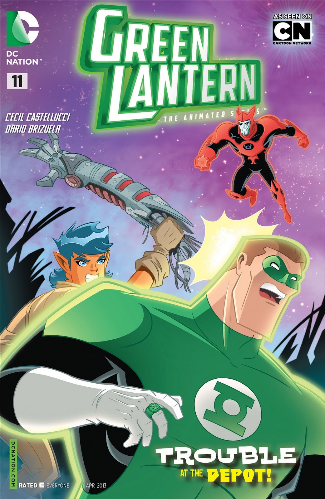 Green Lantern: The Animated Series 11 Page 1