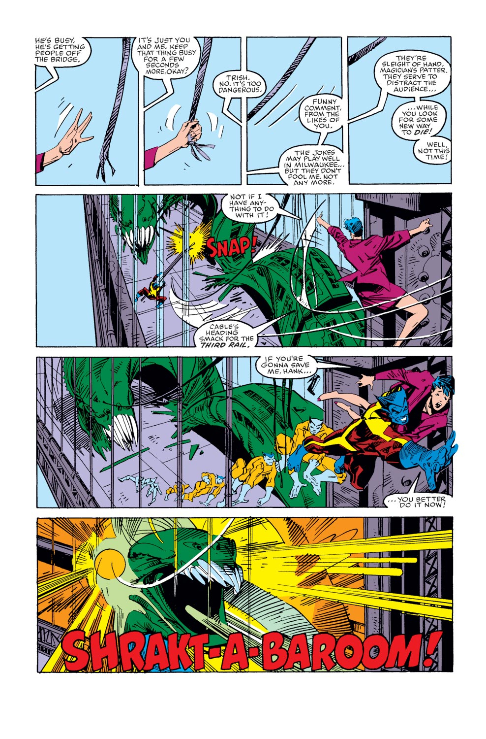 Read online X-Factor (1986) comic -  Issue #36 - 17