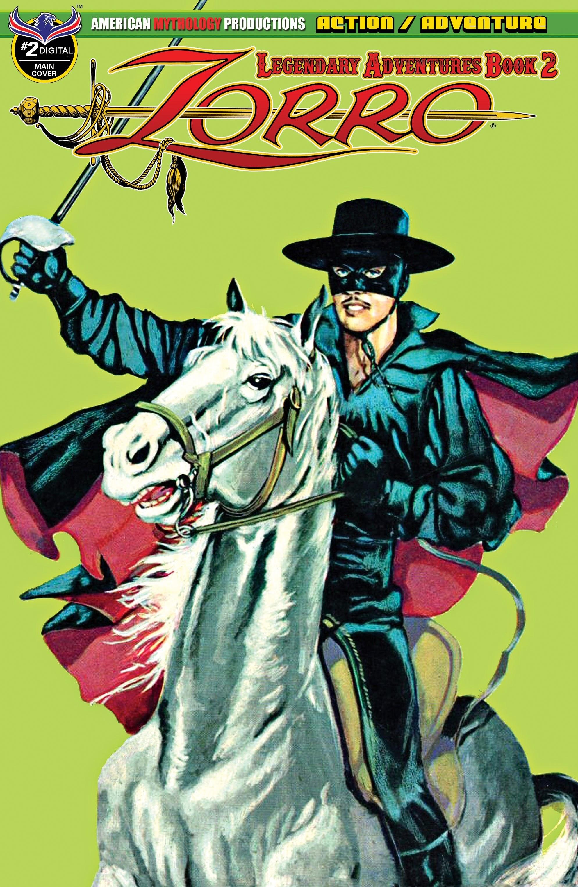 Zorro: Legendary Adventures (2019) 2 Page 1