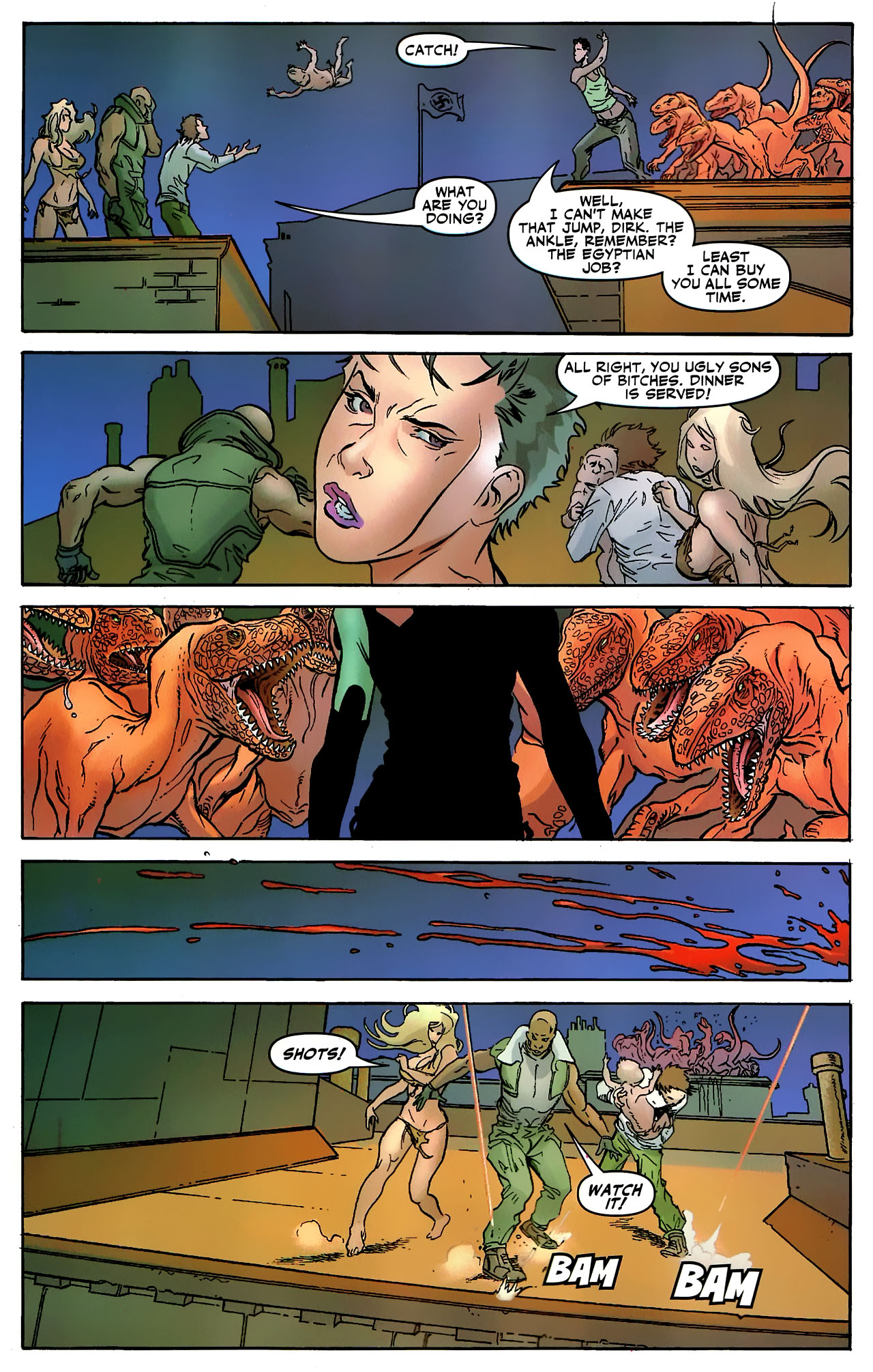 Read online Shanna the She-Devil: Survival of the Fittest comic -  Issue #3 - 19