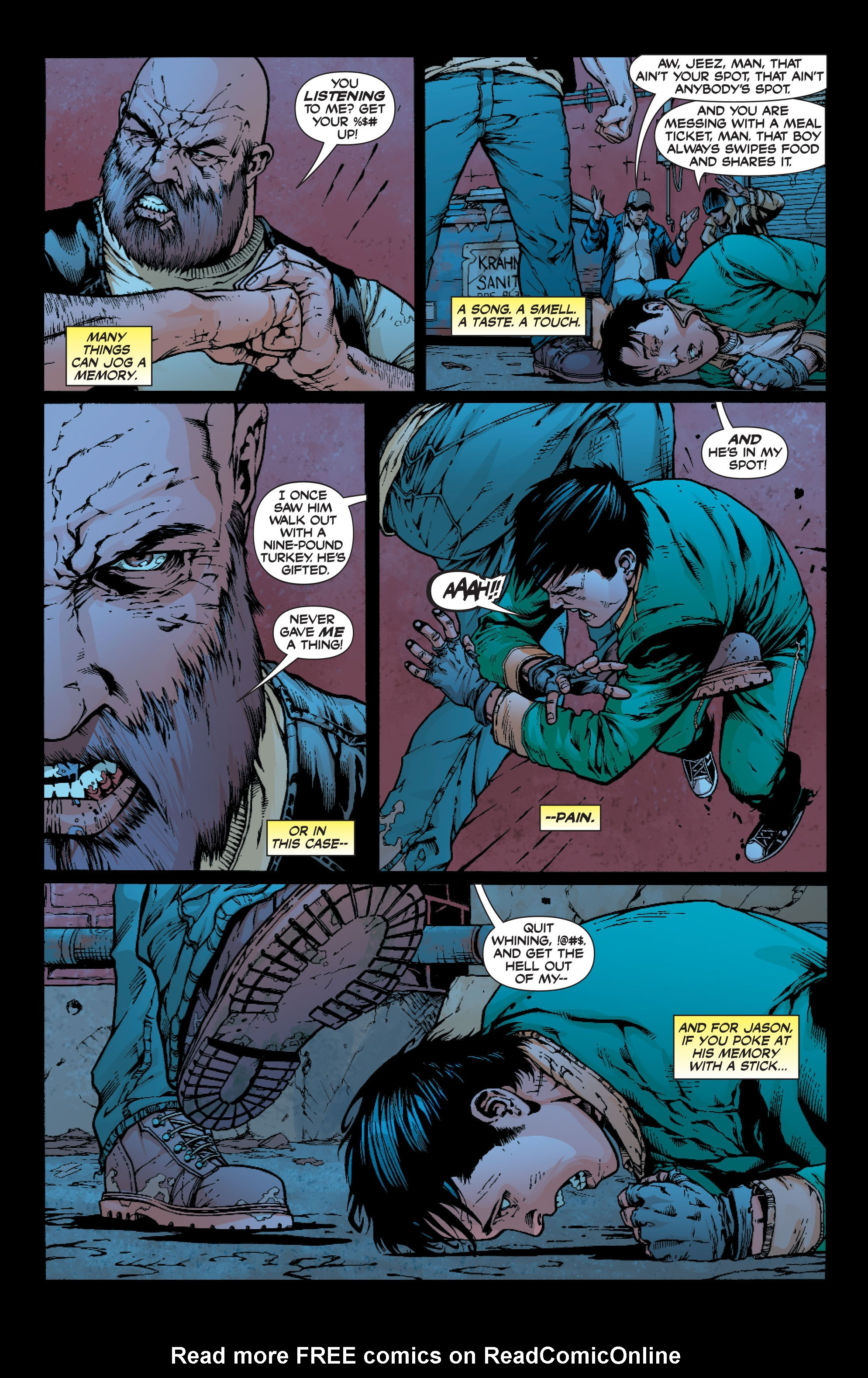 Read online Batman: Under The Red Hood comic -  Issue # Full - 338