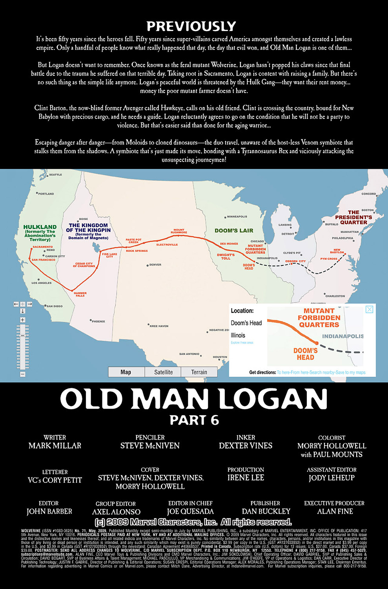 Read online Wolverine: Old Man Logan comic -  Issue # Full - 116