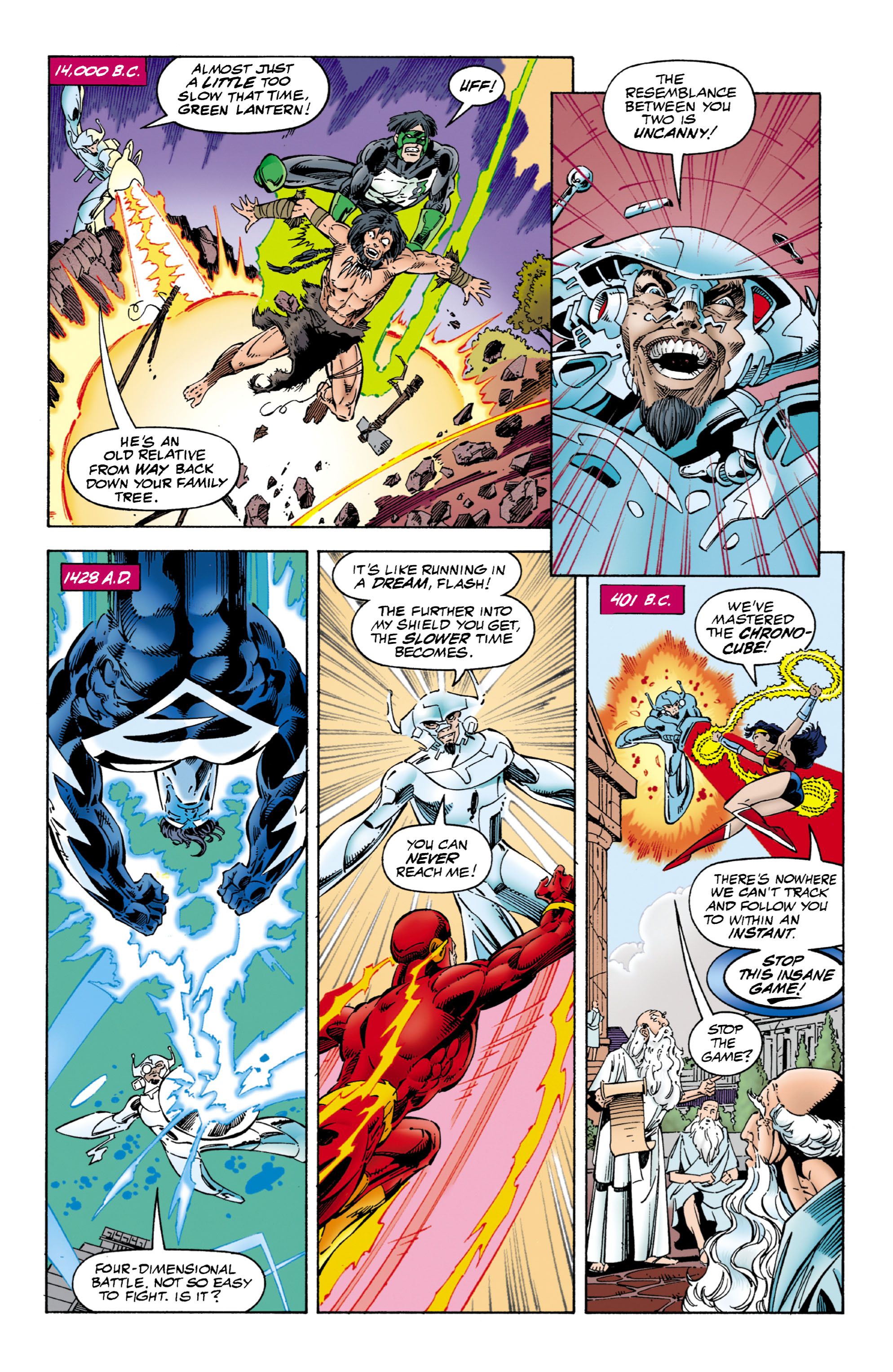 Read online JLA/WildC.A.T.s comic -  Issue # Full - 8